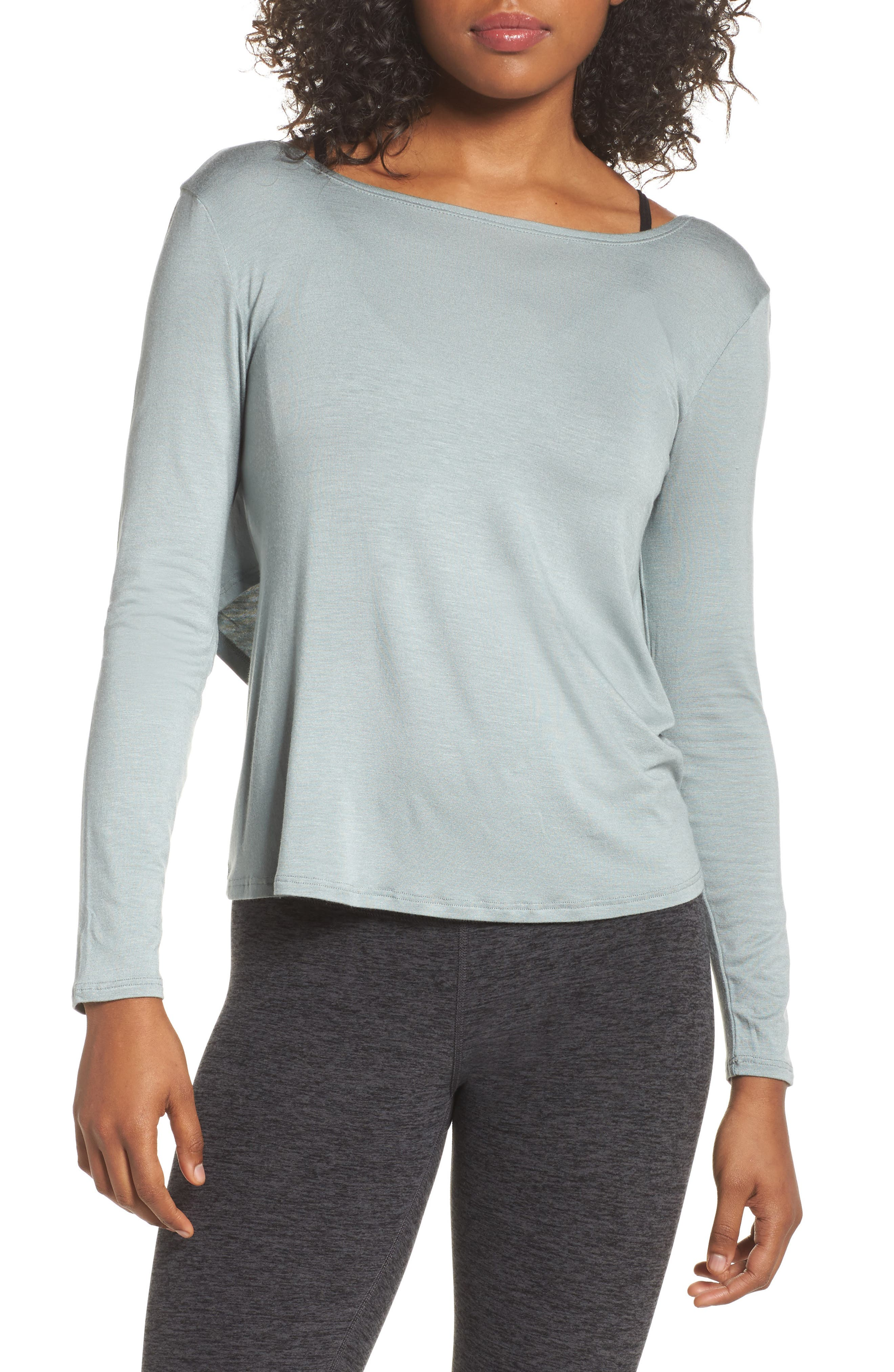 Main Image - Beyond Yoga Twist of Fate Pullover