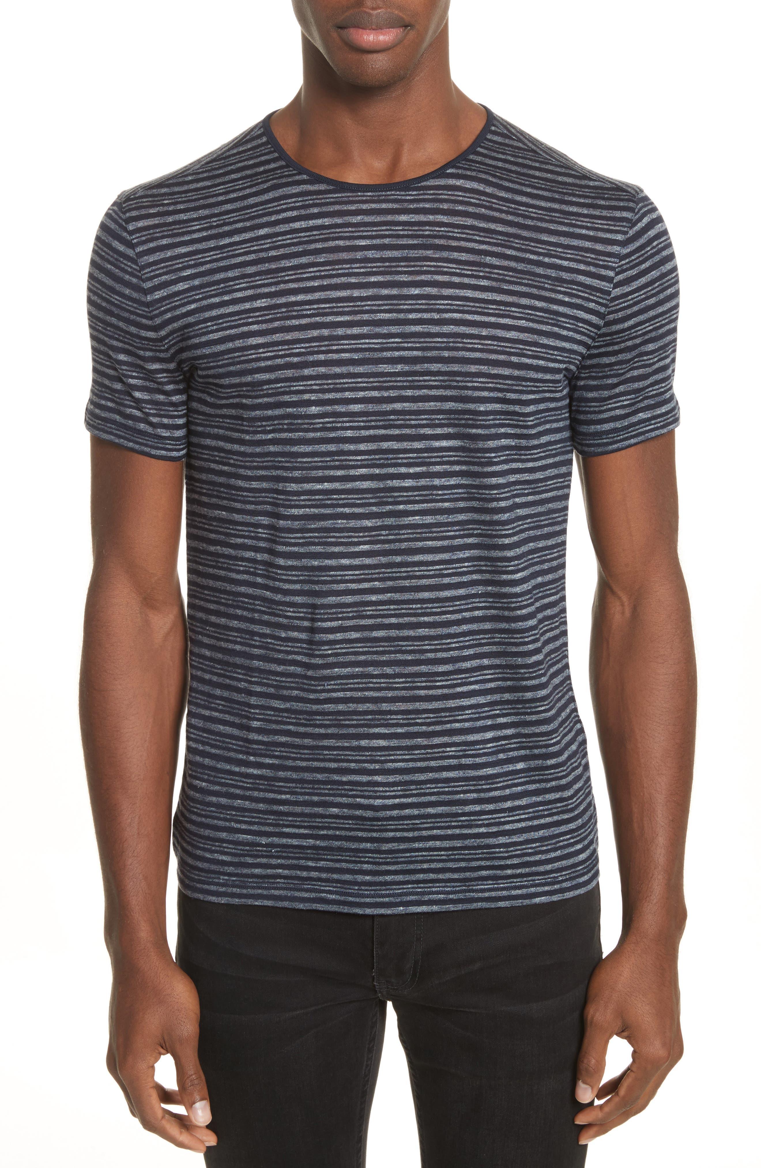 Stripe T-Shirt,                             Main thumbnail 1, color,                             Eclipse