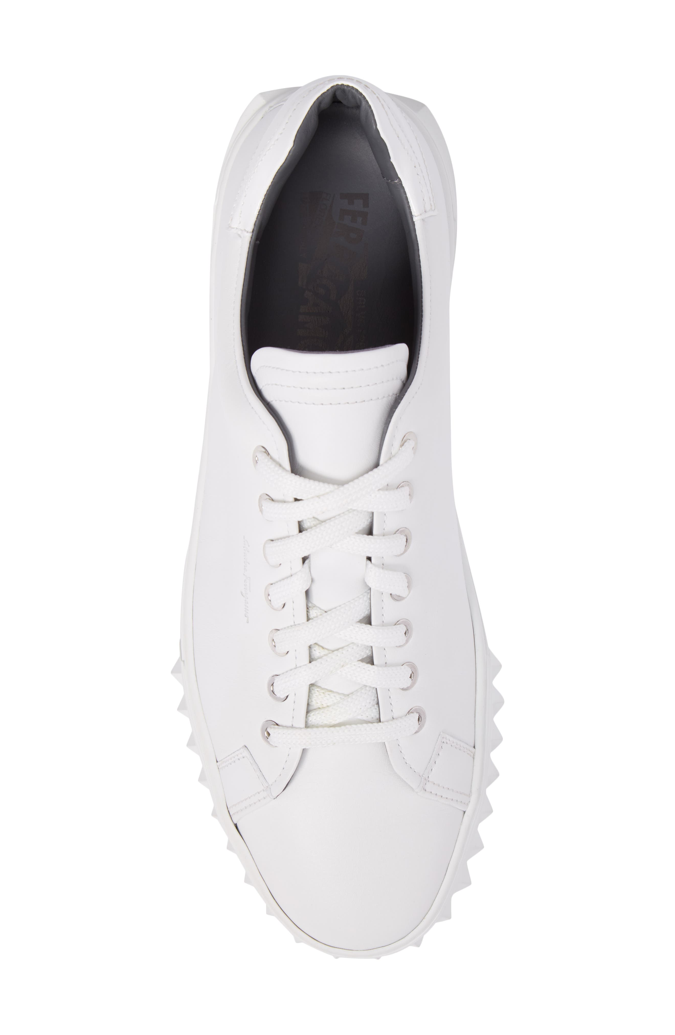 Alternate Image 5  - Salvatore Ferragamo Cube Sneaker (Men)