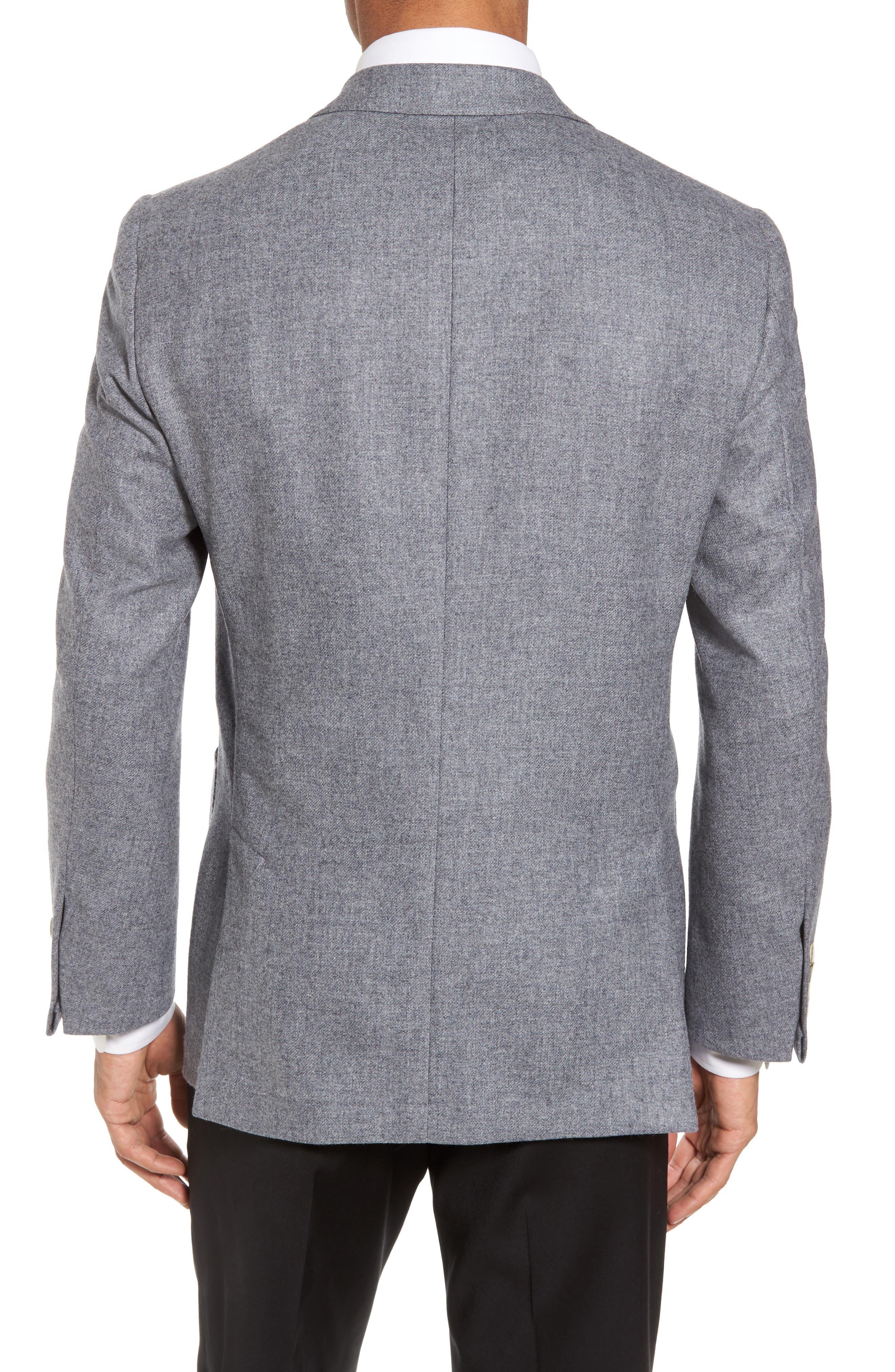 Alternate Image 2  - Hickey Freeman Classic B Fit Wool & Cashmere Blazer