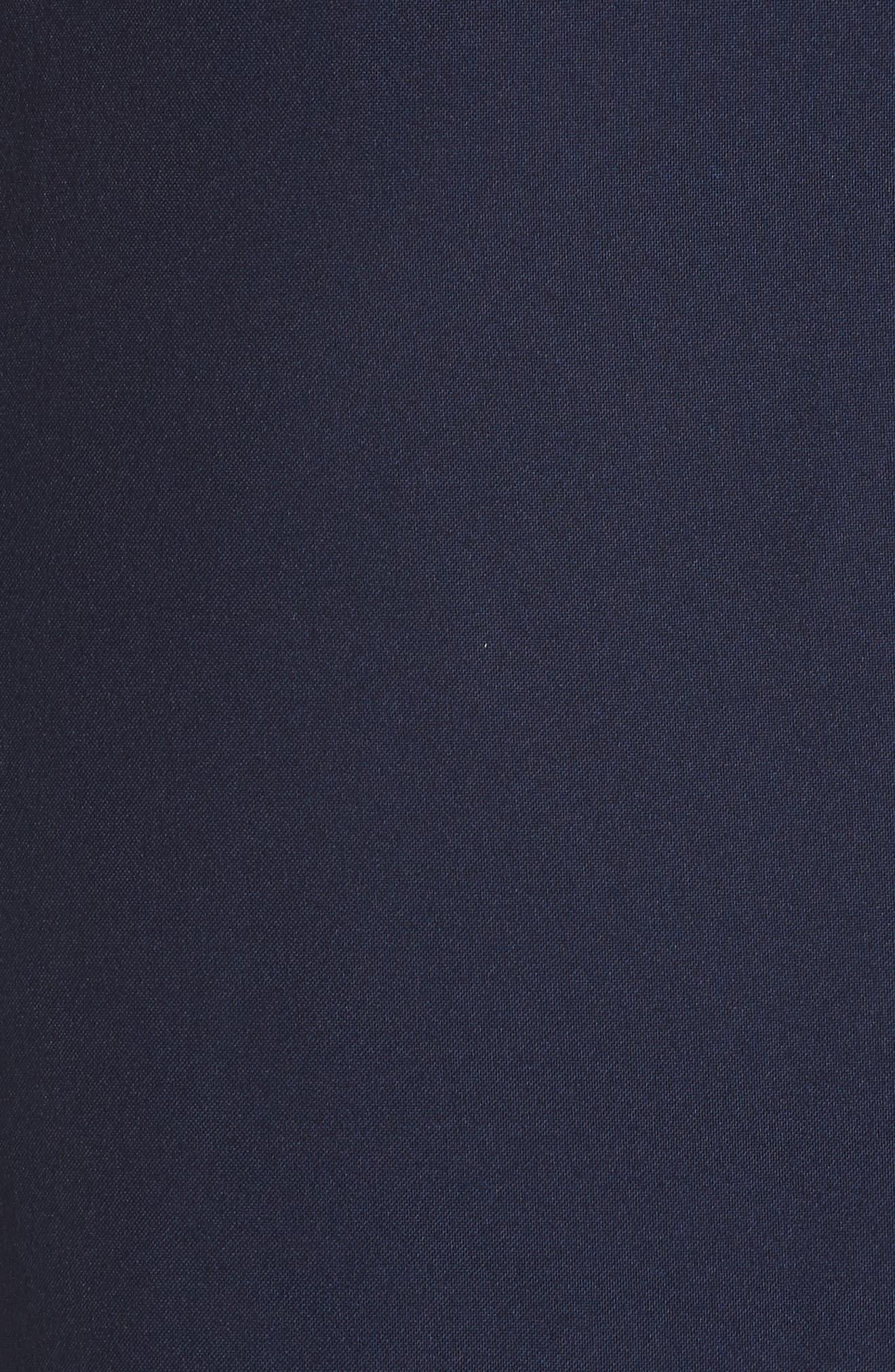 Uniform Midi Skirt,                             Alternate thumbnail 5, color,                             Marine