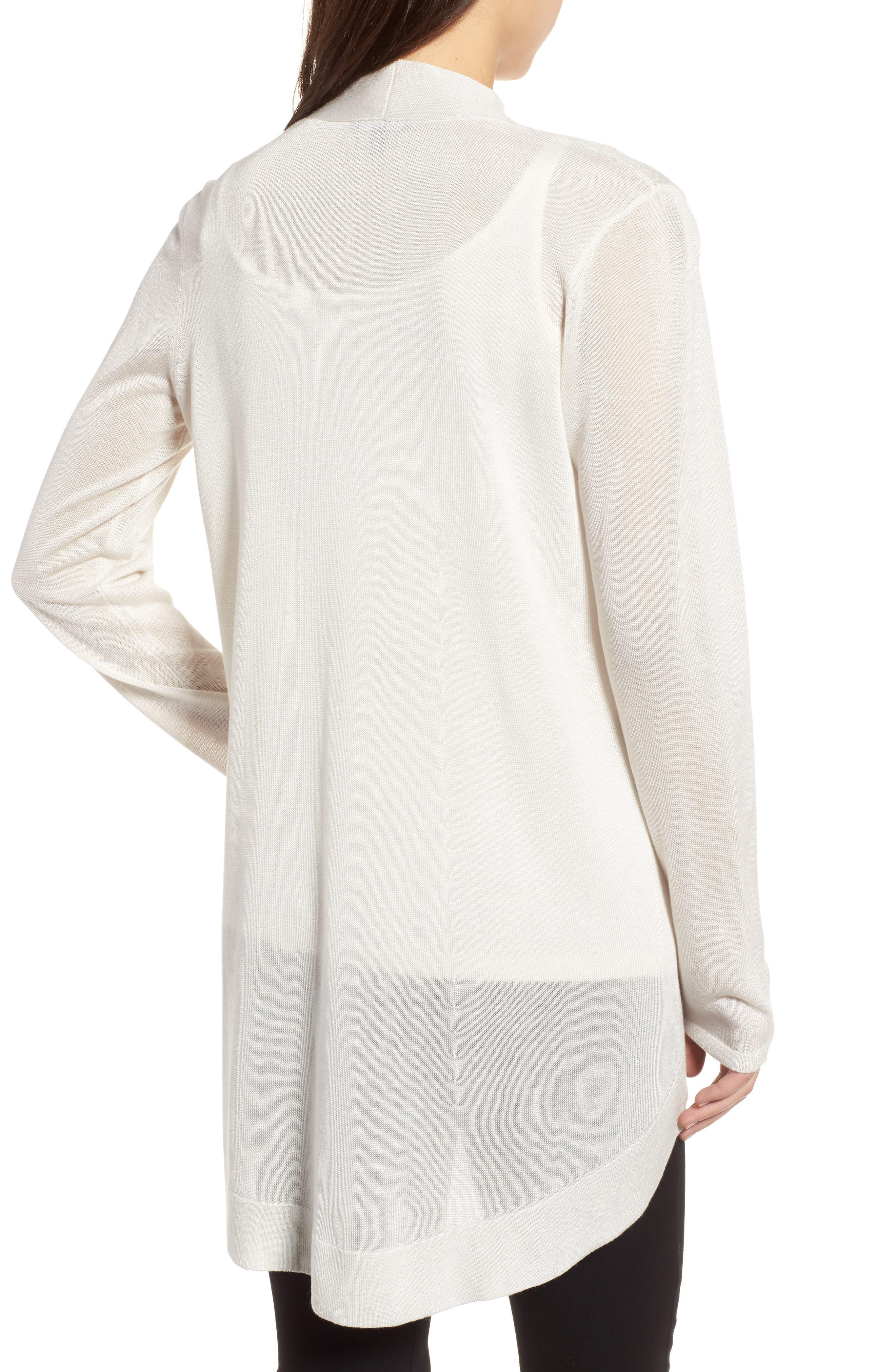 Alternate Image 2  - Eileen Fisher Tencel® & Merino Wool Shaped Cardigan