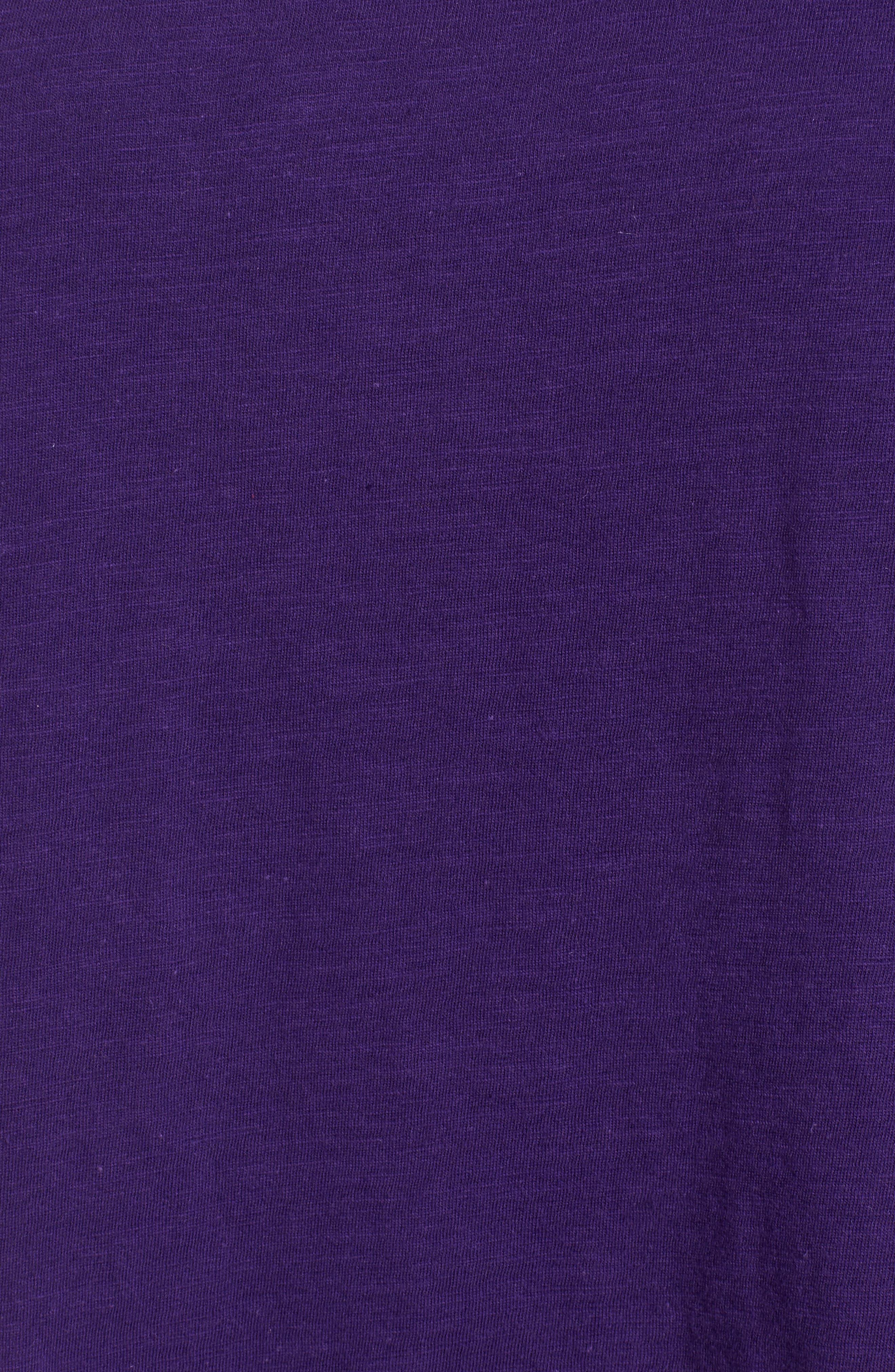 Alternate Image 5  - Eileen Fisher Organic Cotton Tee (Regular & Petite)