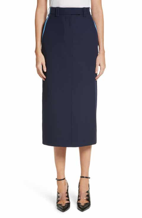 Calvin Klein 205W39NYC Uniform Midi Skirt
