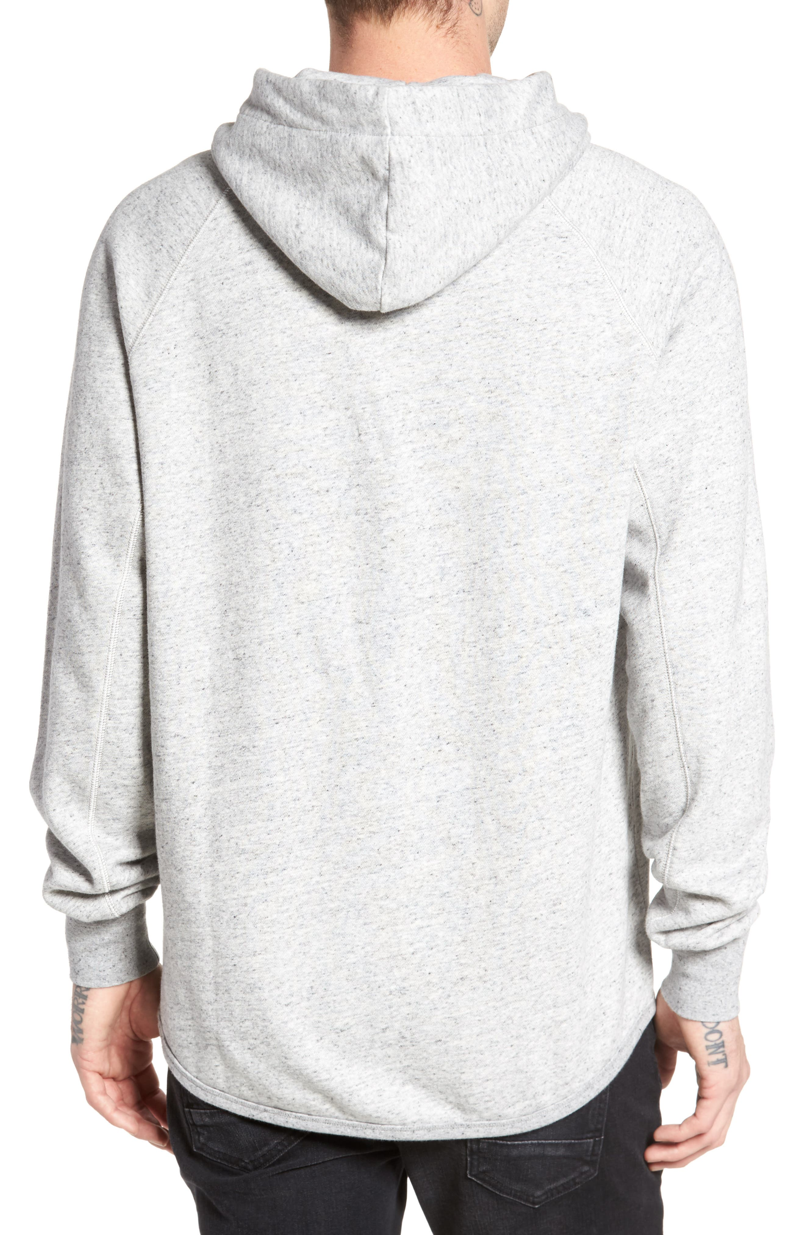 Callow Pullover Hoodie,                             Alternate thumbnail 2, color,                             Grey Heather