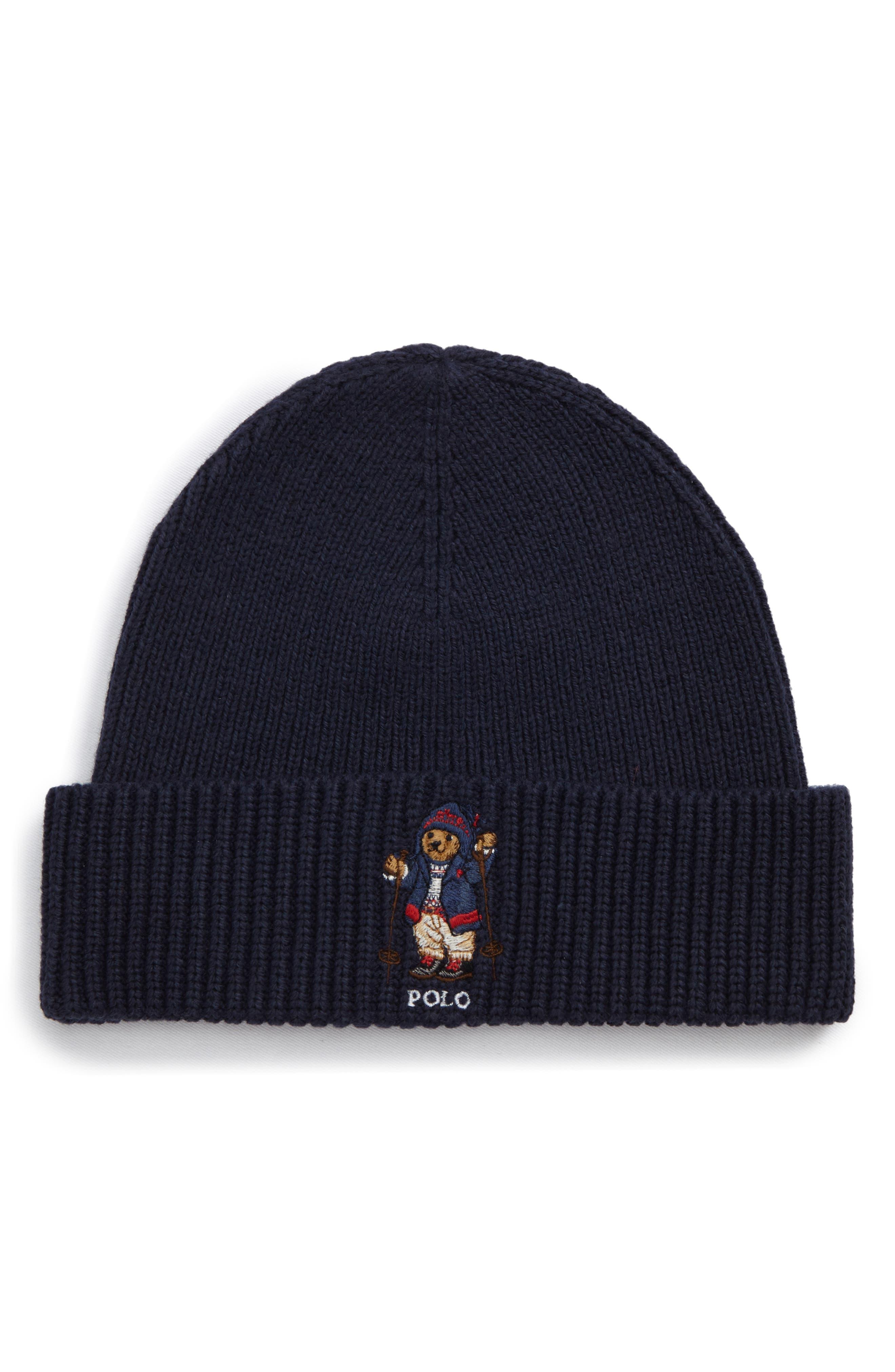 Polo Ralph Lauren Aprés Ski Bear Knit Cap