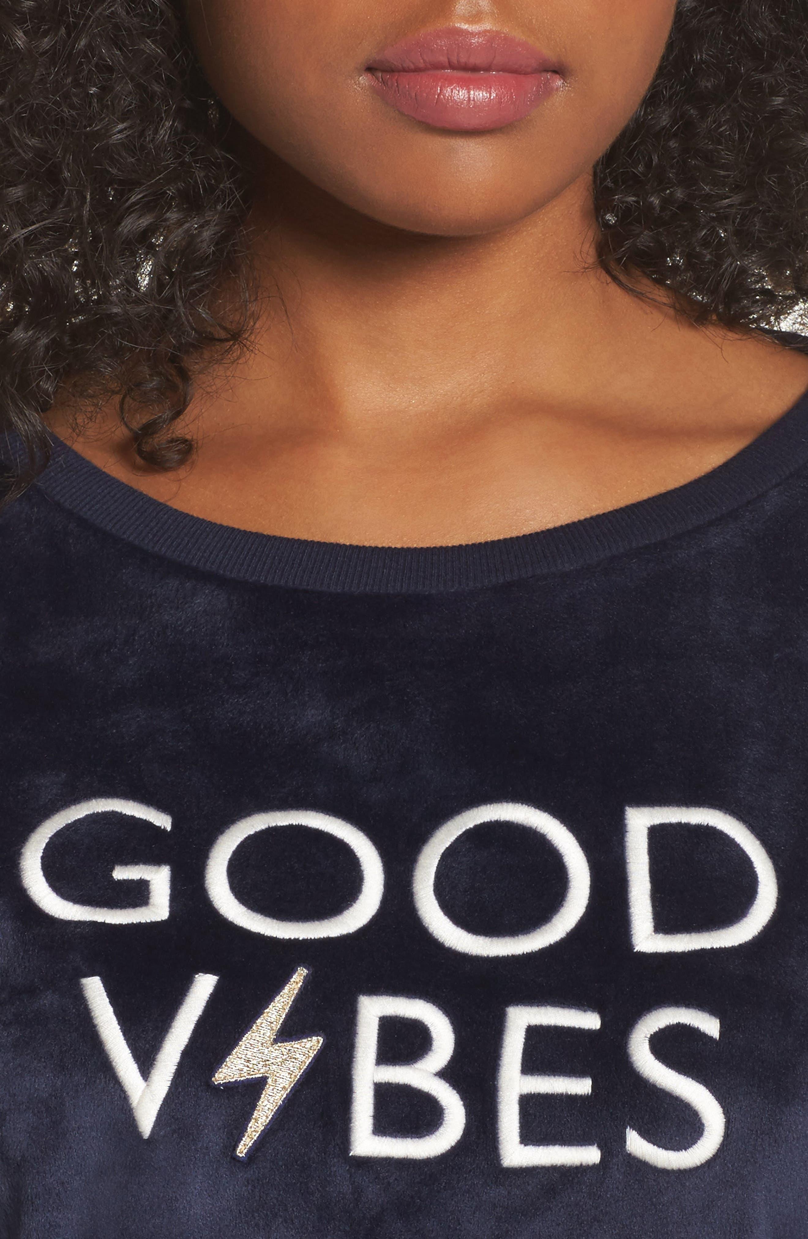 Alternate Image 6  - Room Service Luxury Plush Sweatshirt