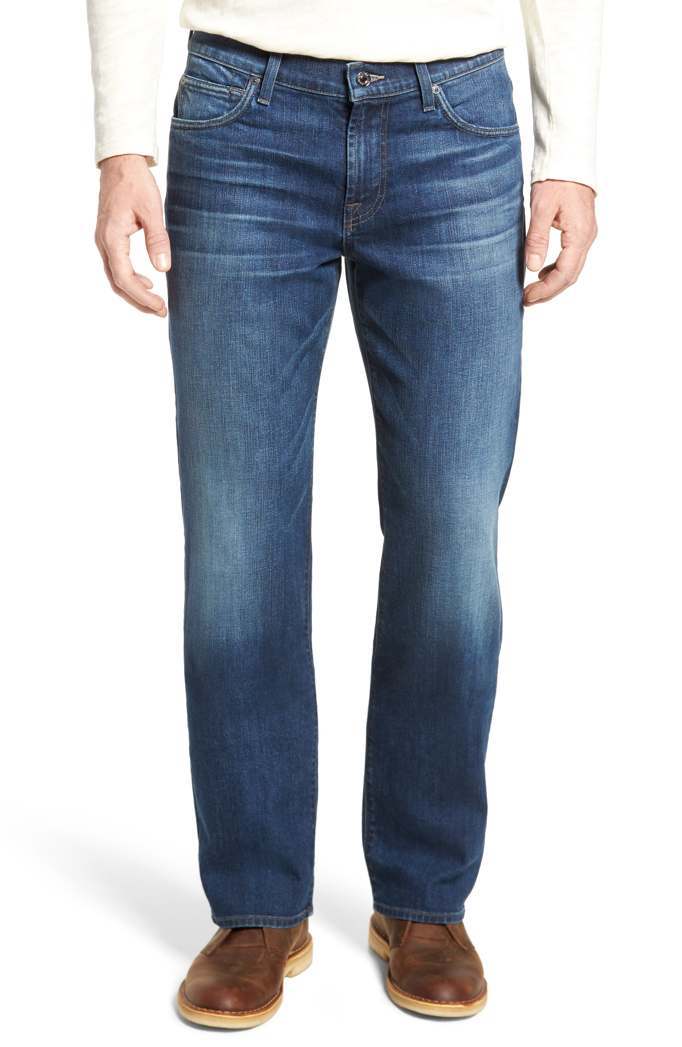 Main Image - 7 For All Mankind® Austyn Relaxed Fit Jeans (Recollection)