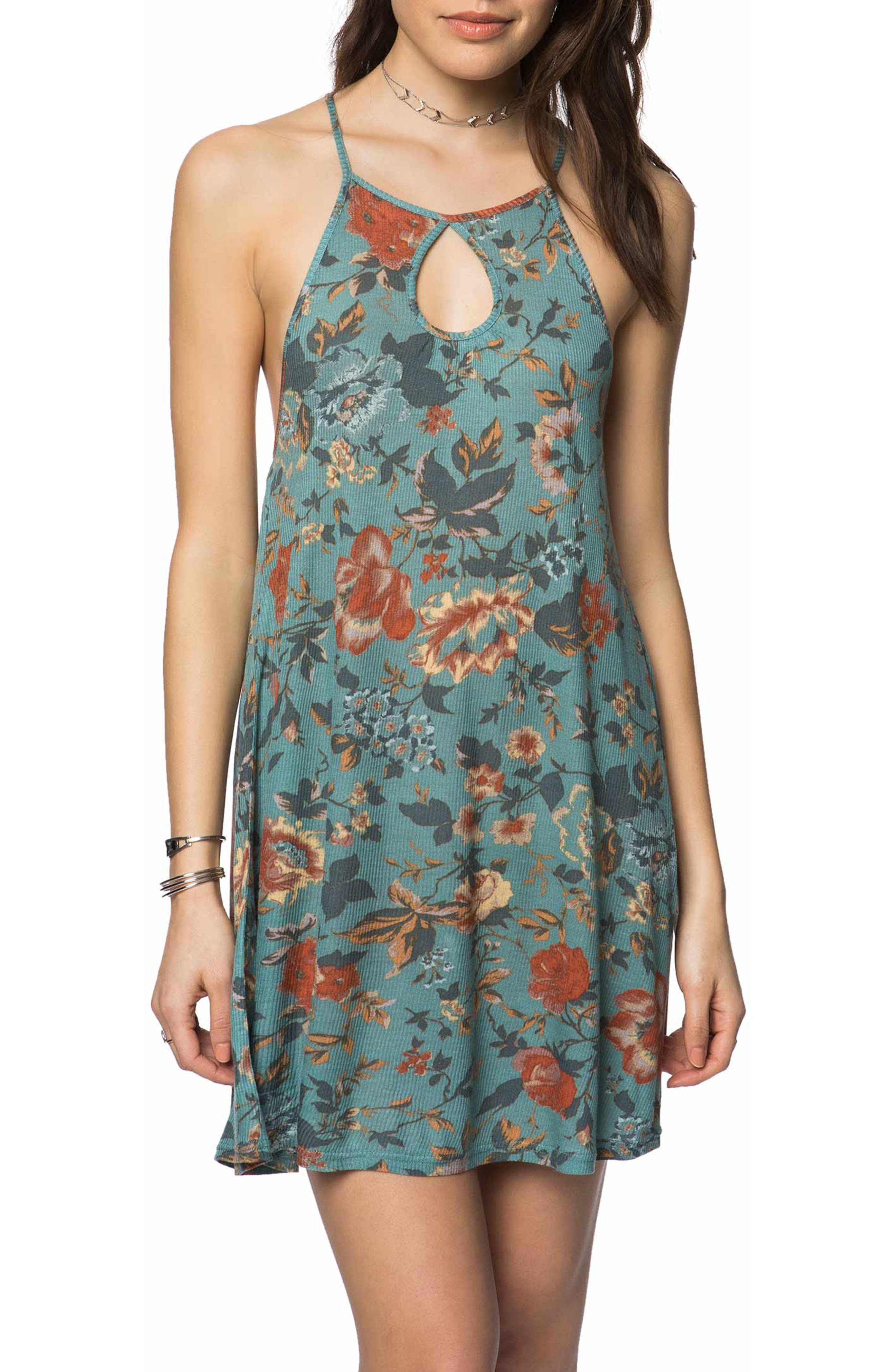 Devora Knit Dress,                             Main thumbnail 1, color,                             Trellis