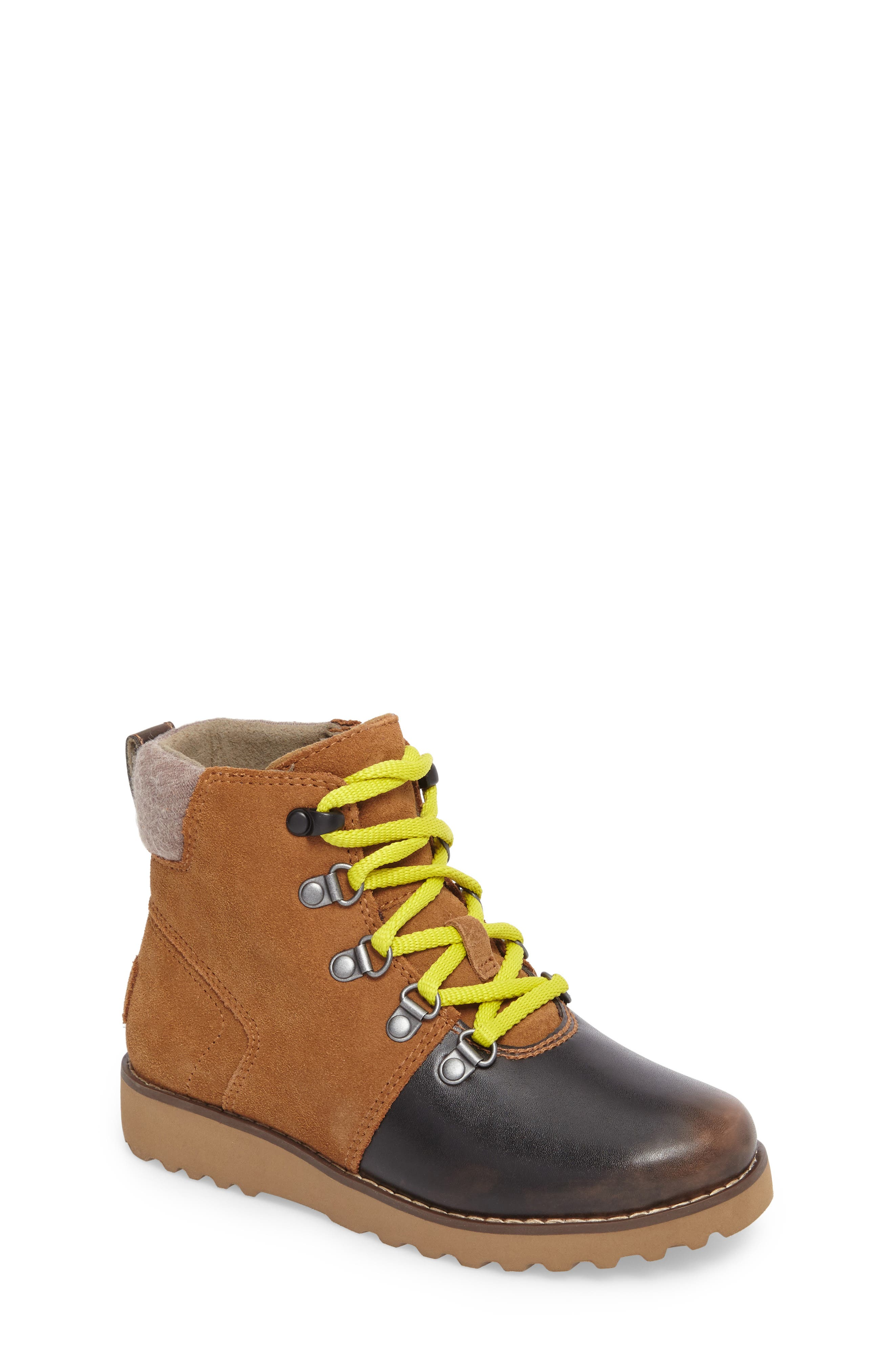 Hilmar Waterproof Winter Hiking Boot,                             Main thumbnail 1, color,                             Grizzly