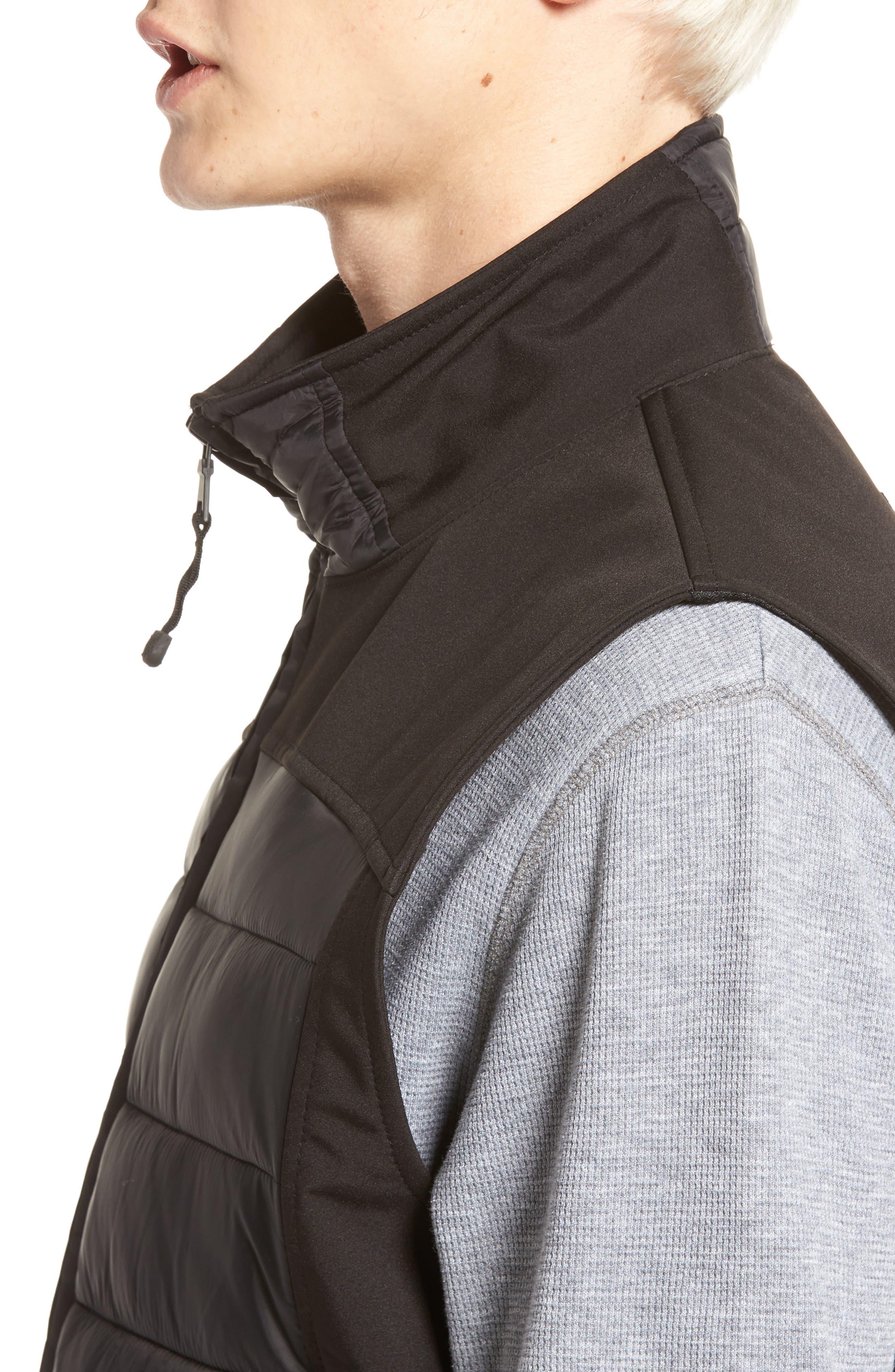 Alternate Image 4  - Black Rivet Quilted Vest