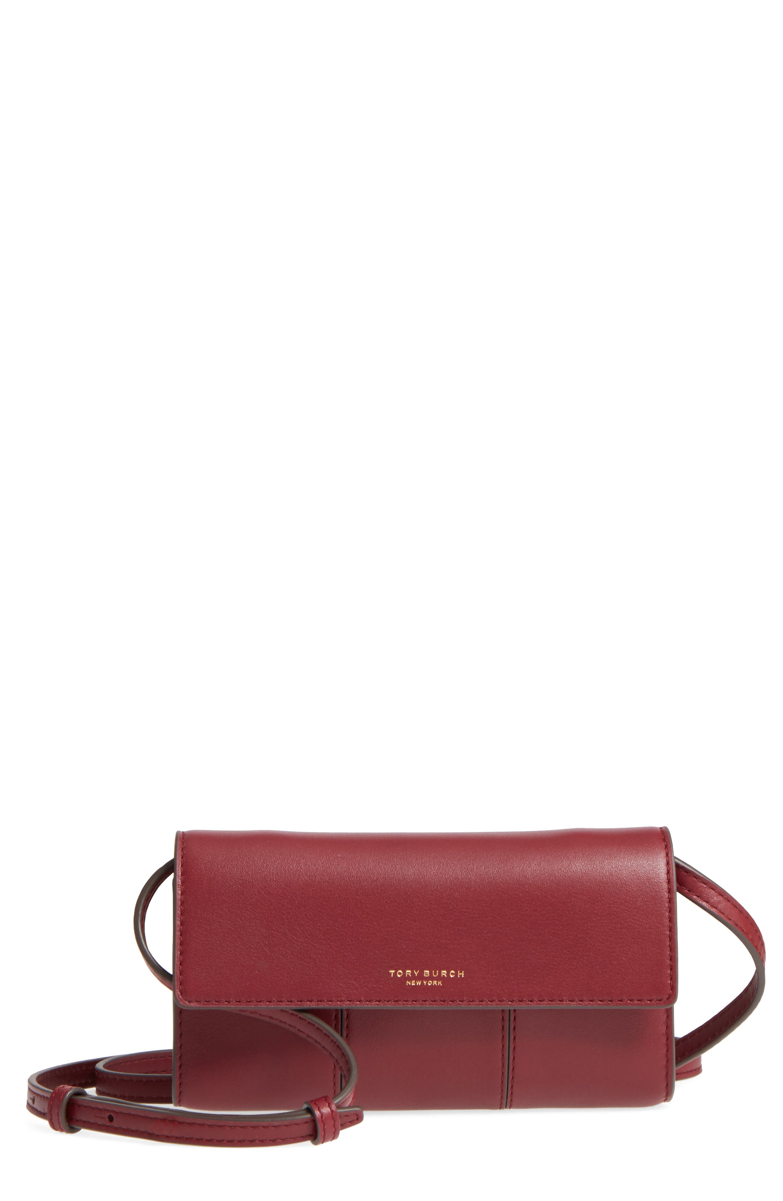 Tory Burch Block-T Leather Crossbody Bag