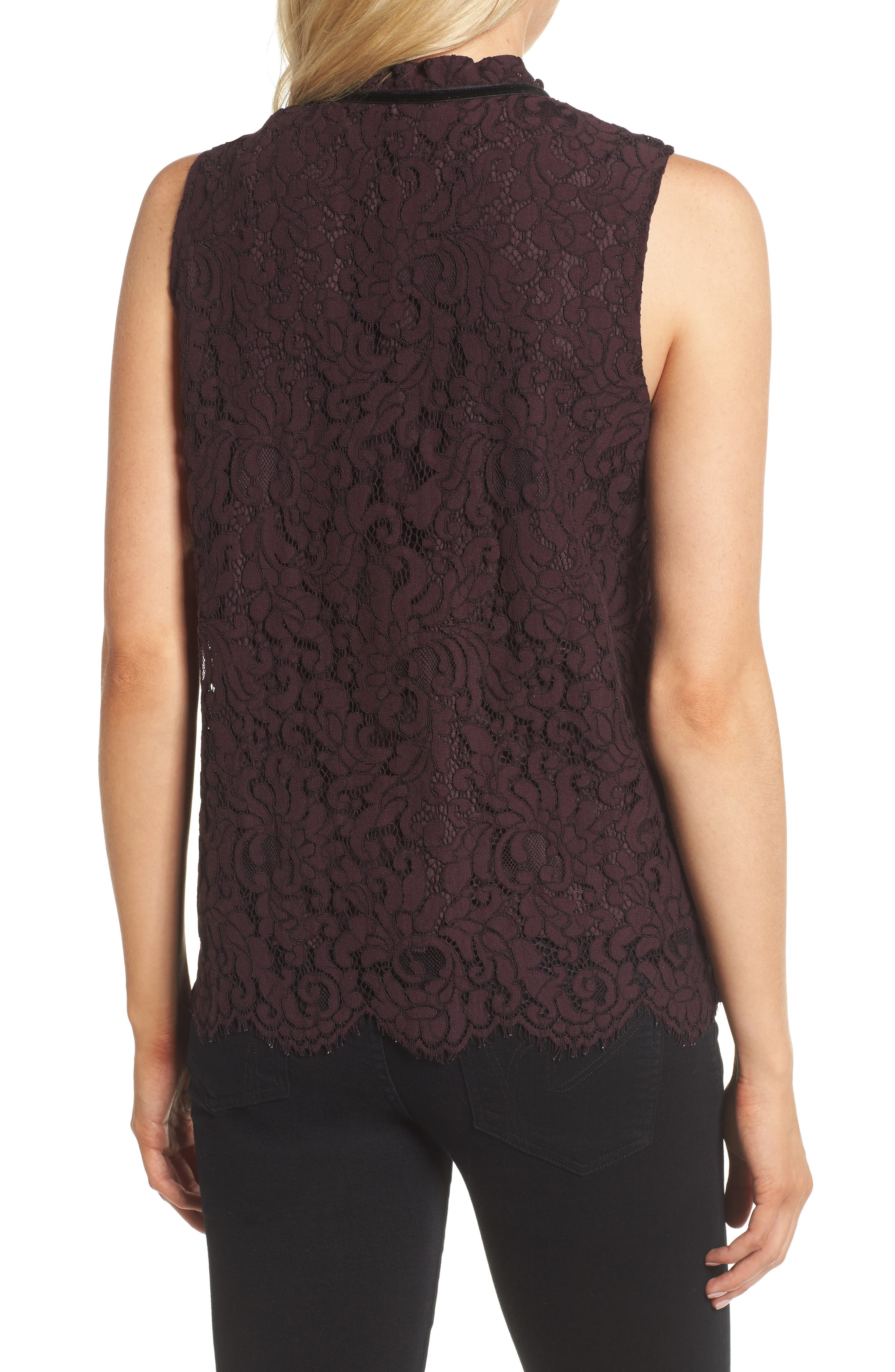 Alternate Image 2  - cupcakes and cashmere Isra Lace Top