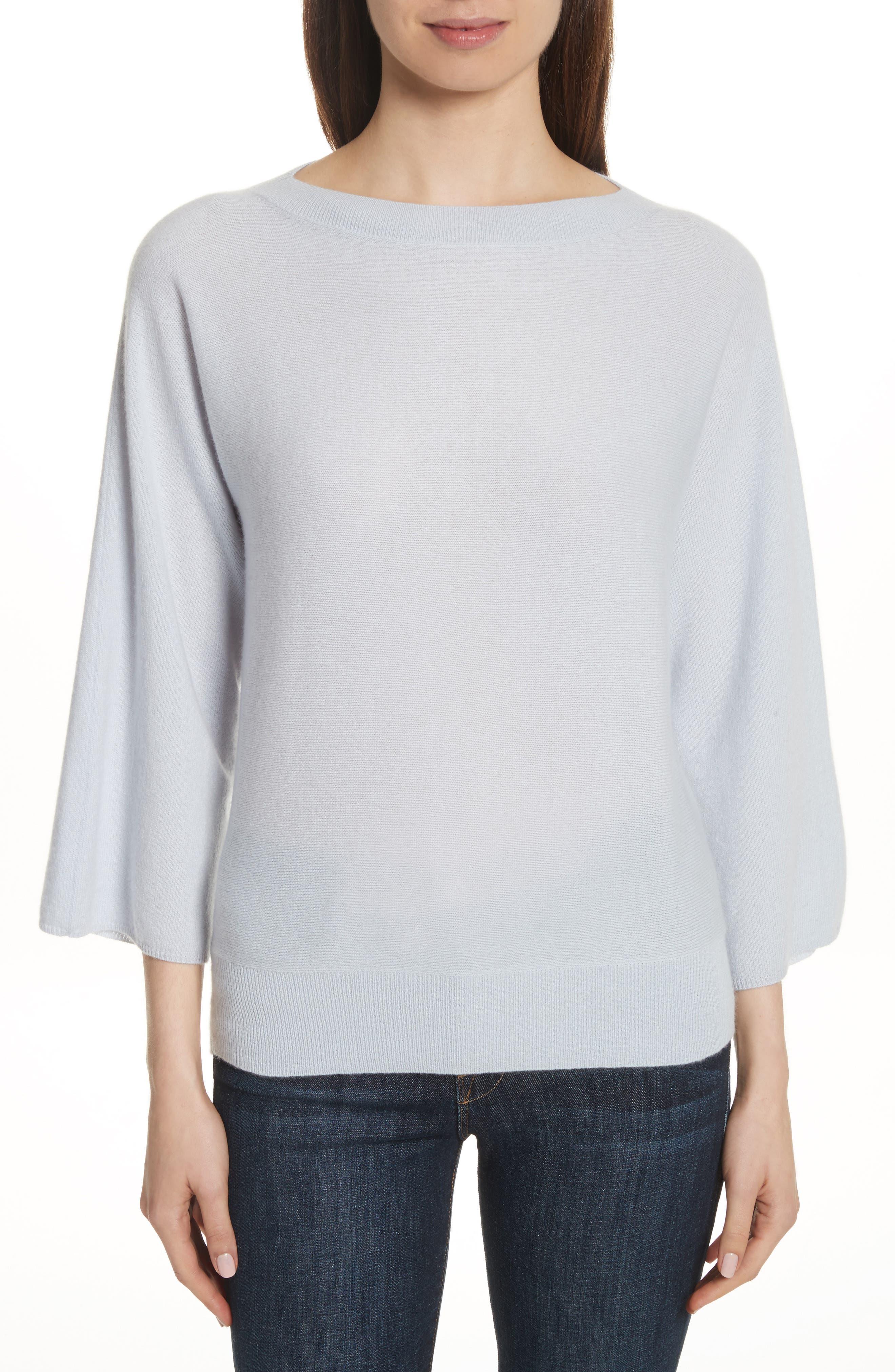 Cashmere Sweater,                         Main,                         color, Light Blue