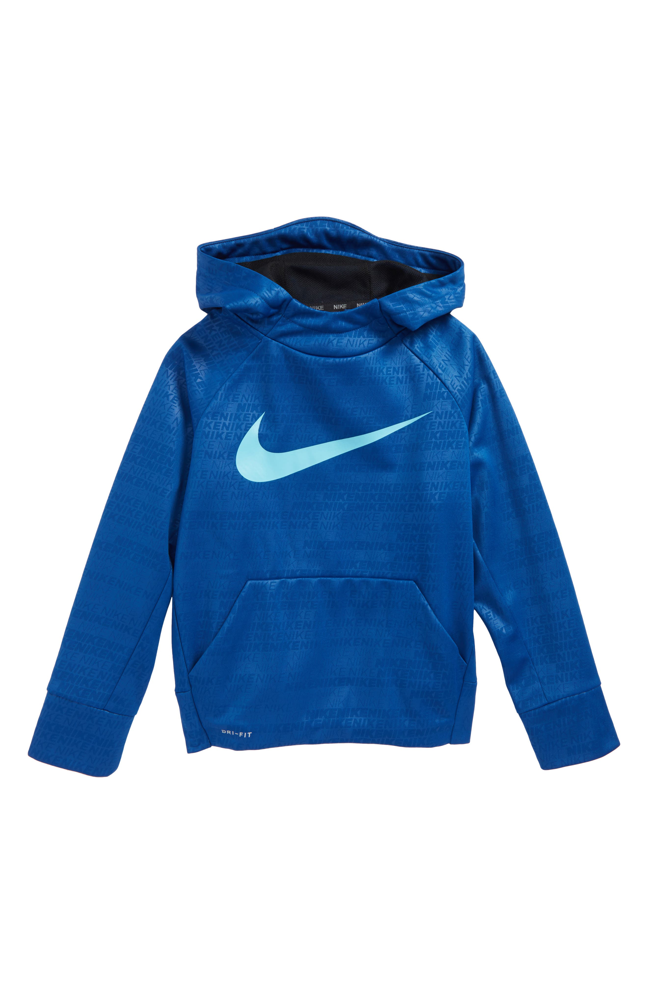 Nike Therma Elite Dry Hoodie (Little Boys & Big Boys)