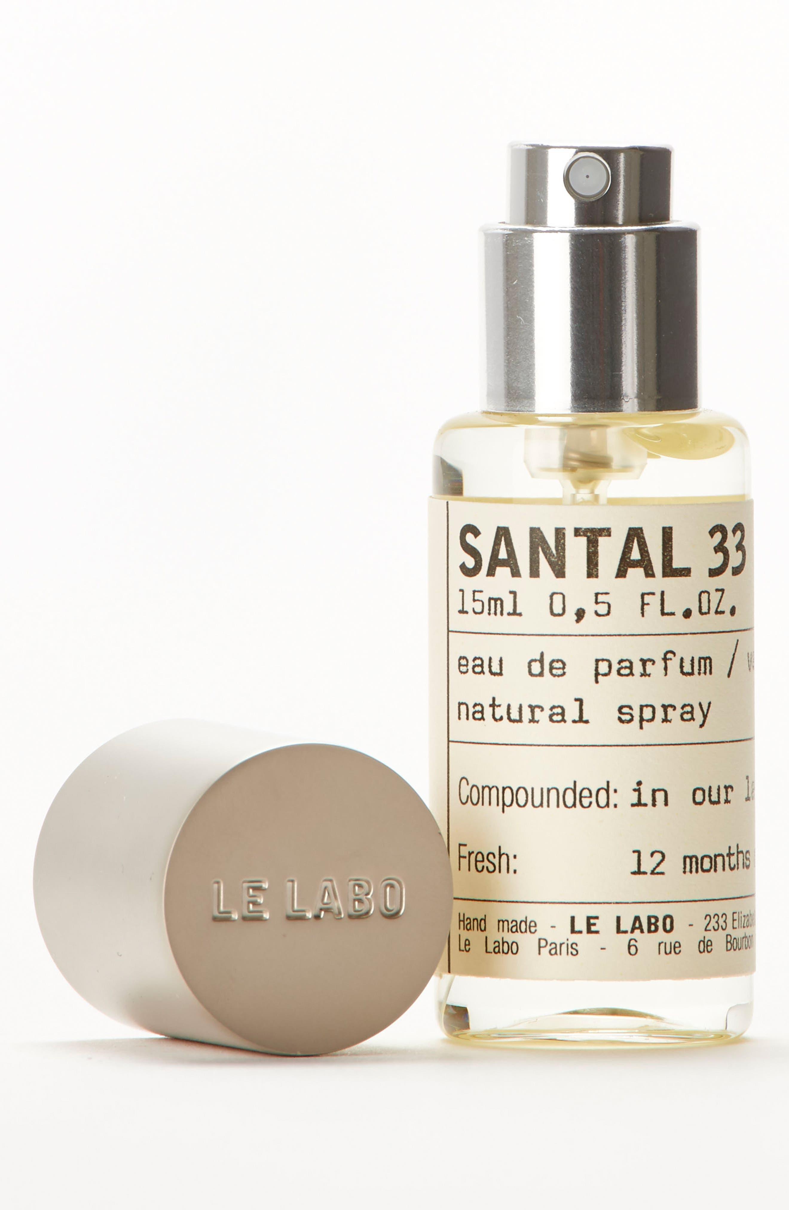 Santal 33 Eau de Parfum Natural Spray,                             Alternate thumbnail 2, color,                             No Color