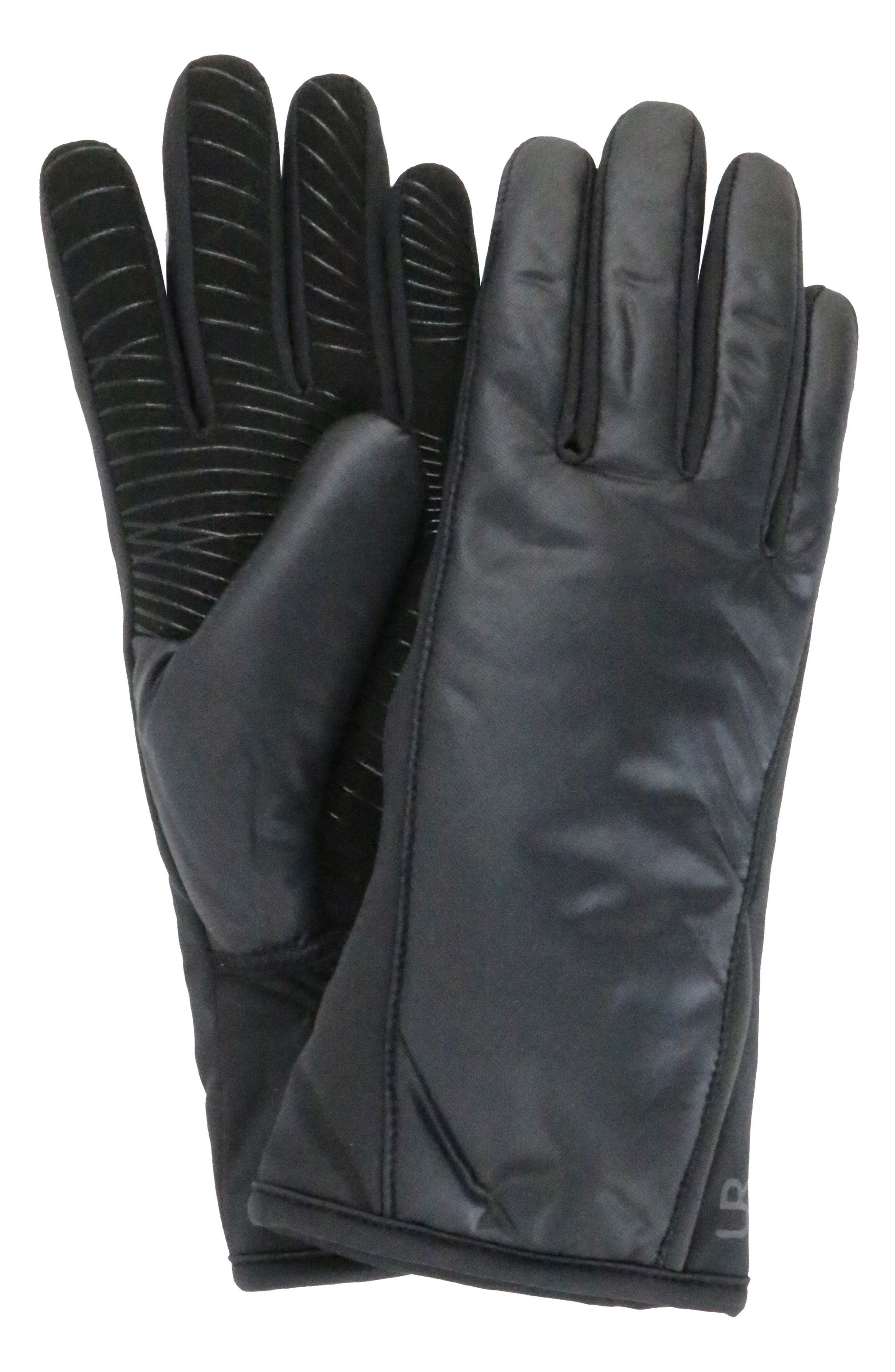 U|R Tech Faux Fur Lined Heat Pack Gloves