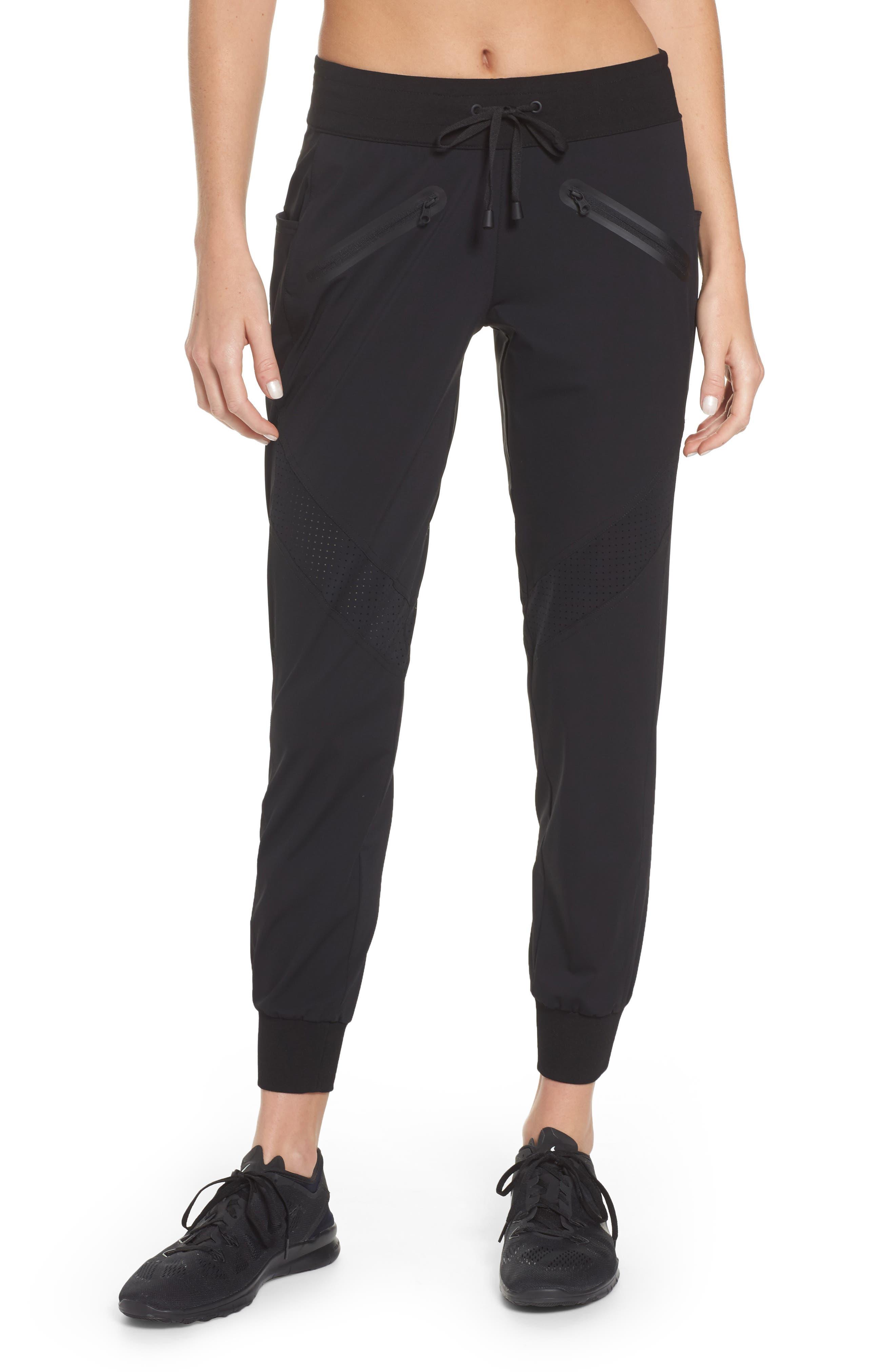 Vibe Jogger Pants,                         Main,                         color, Black/ Black