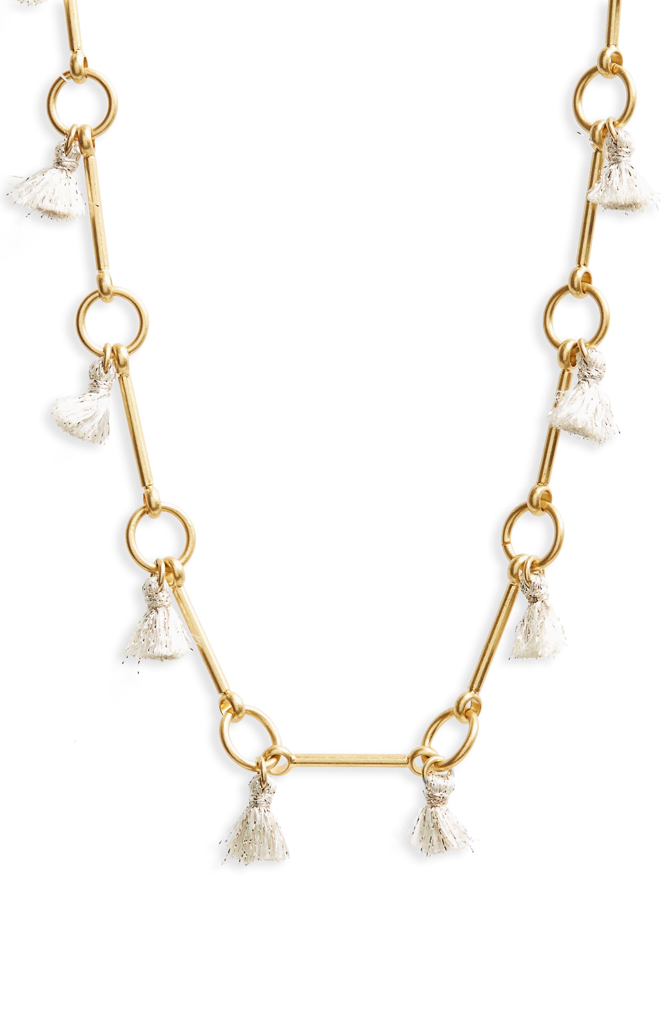 Alternate Image 2  - Madewell Tassel Link Necklace