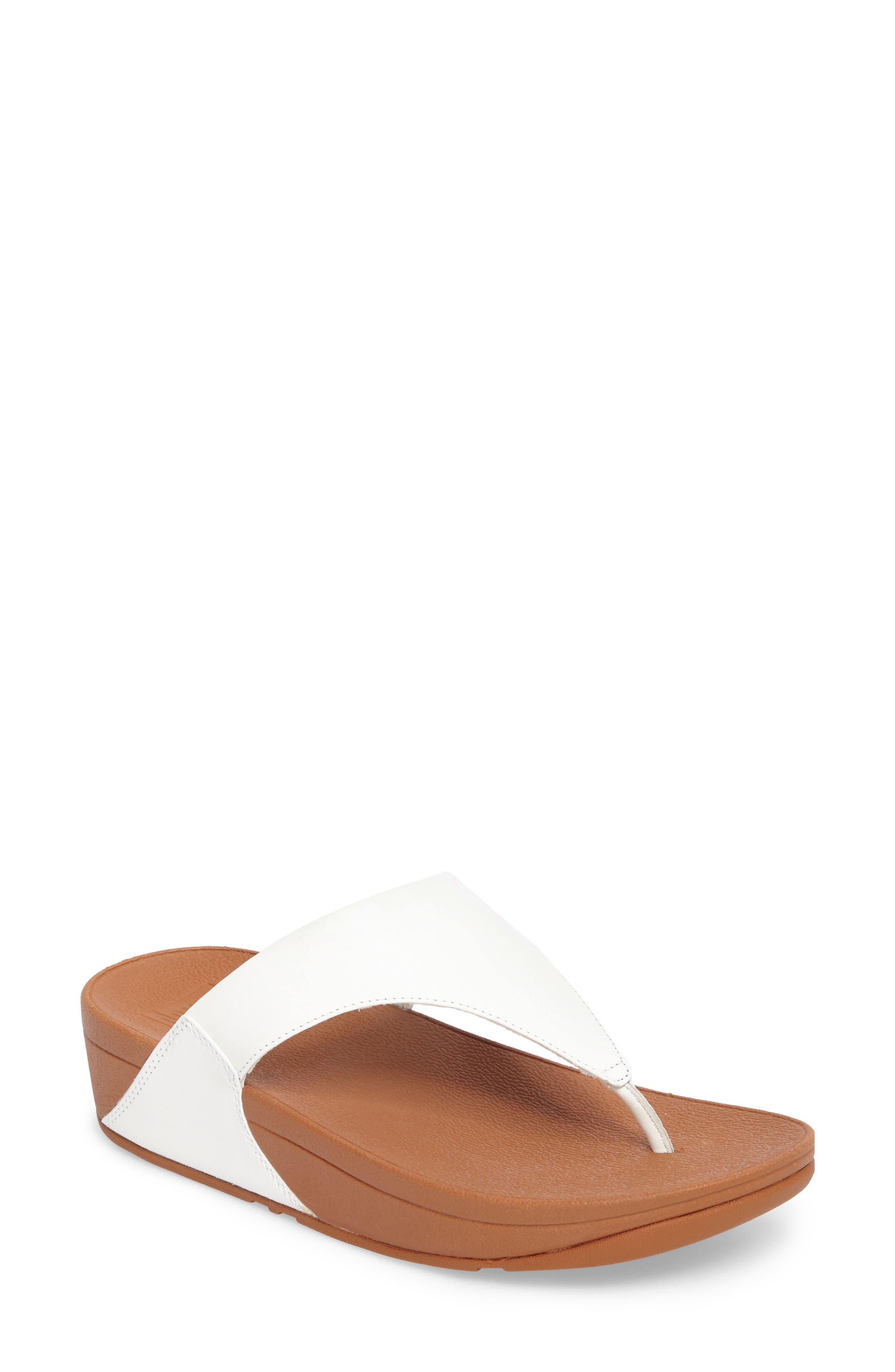 Lulu Fit Flop,                         Main,                         color, Urban White