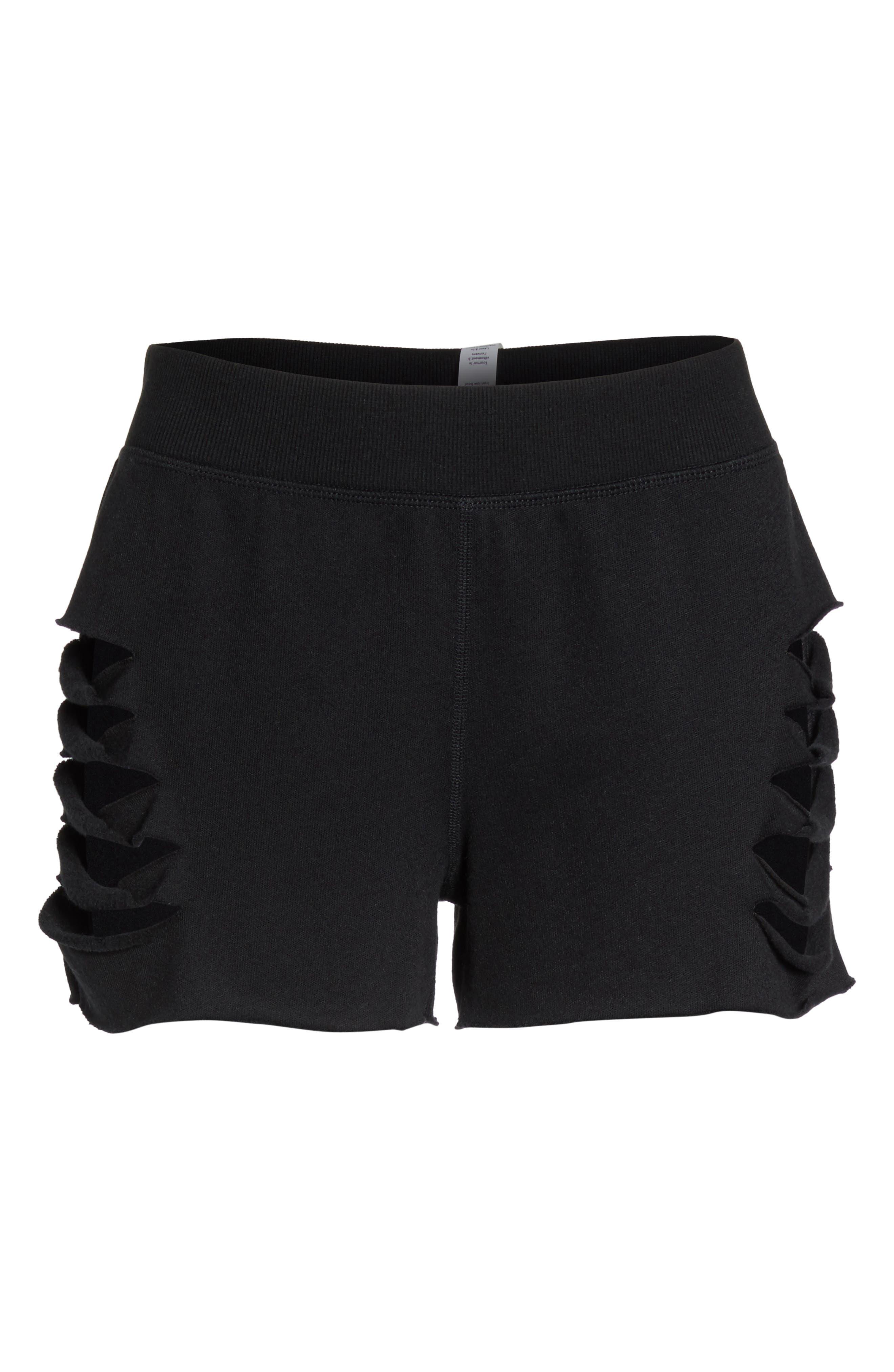 Slay Shorts,                             Alternate thumbnail 7, color,                             Black