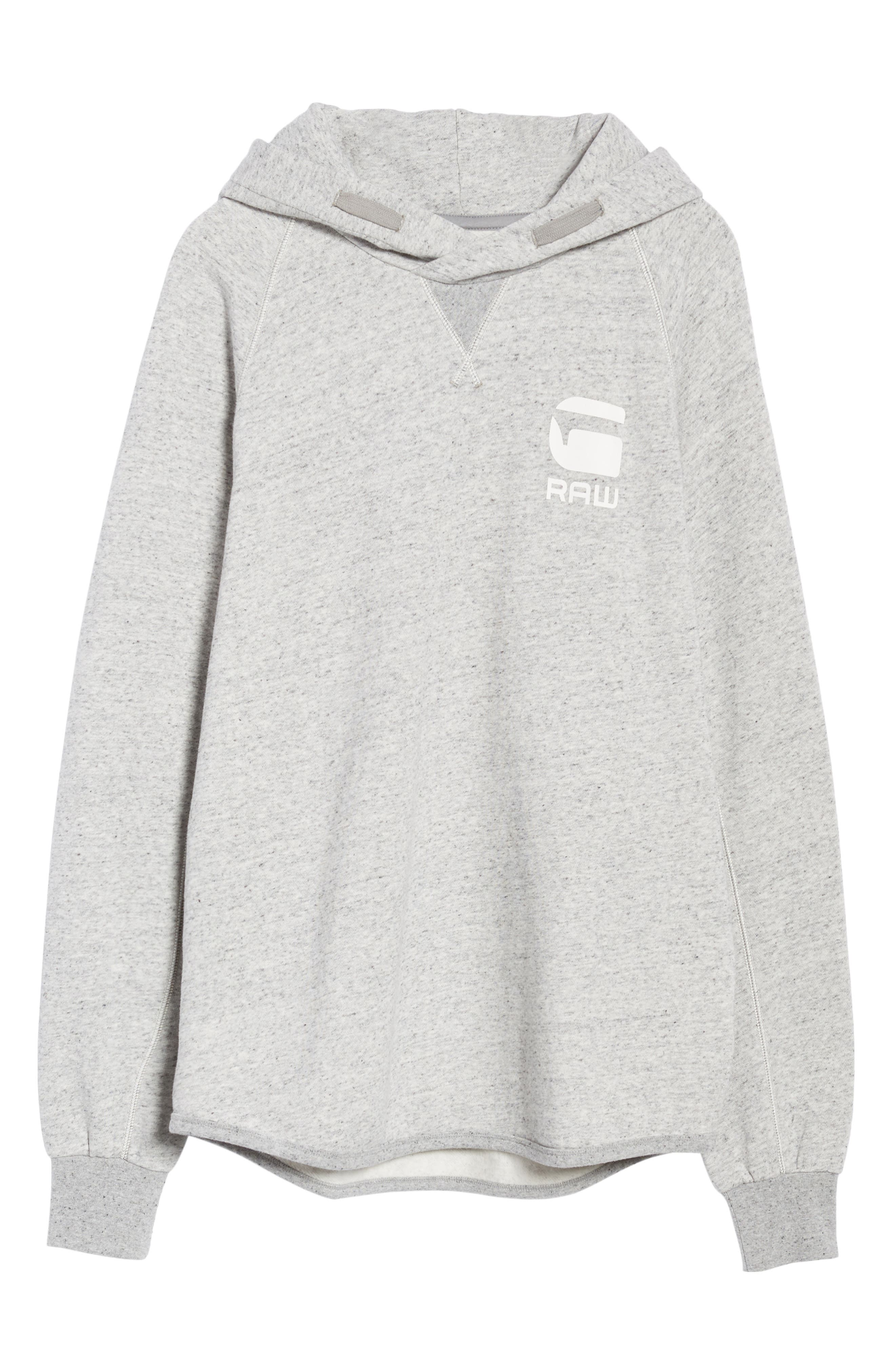 Callow Pullover Hoodie,                             Alternate thumbnail 6, color,                             Grey Heather