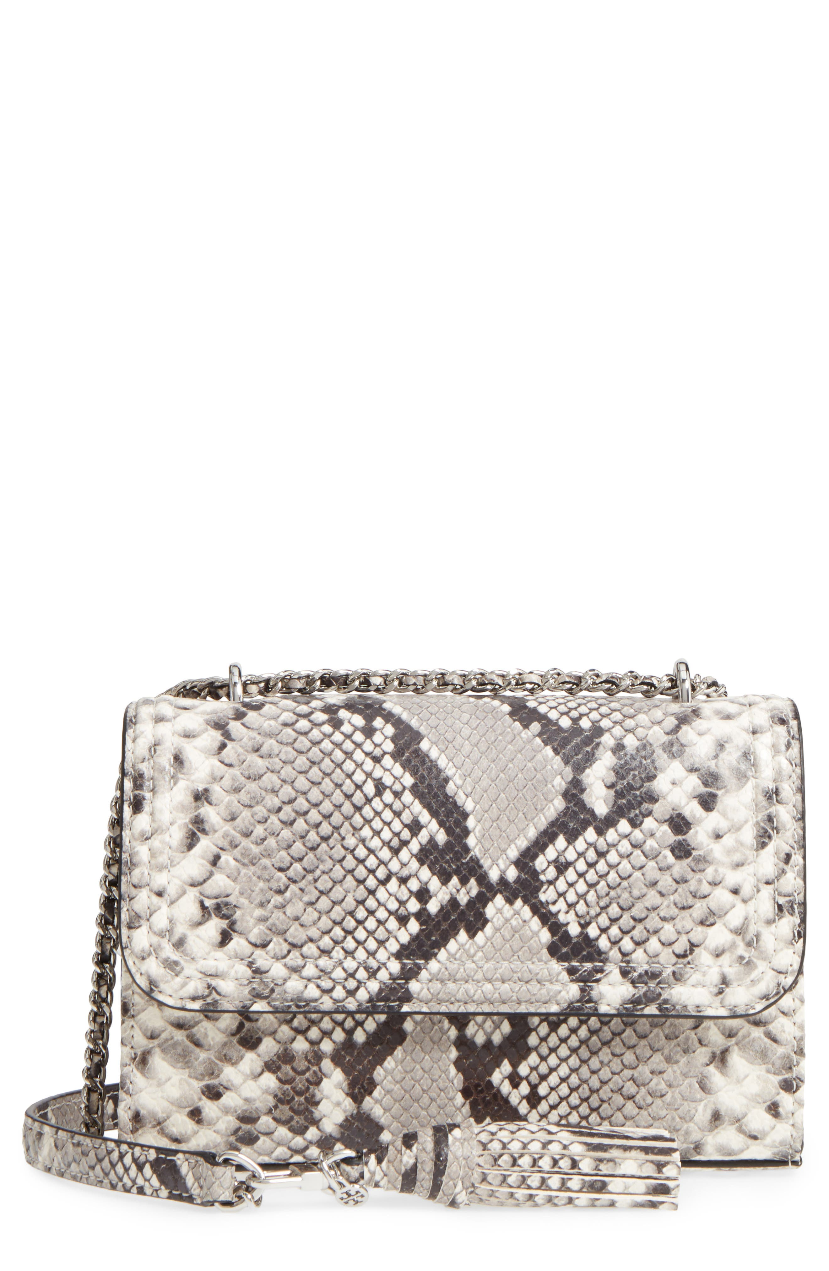 Alternate Image 1 Selected - Tory Burch Small Fleming Leather Convertible Shoulder Bag
