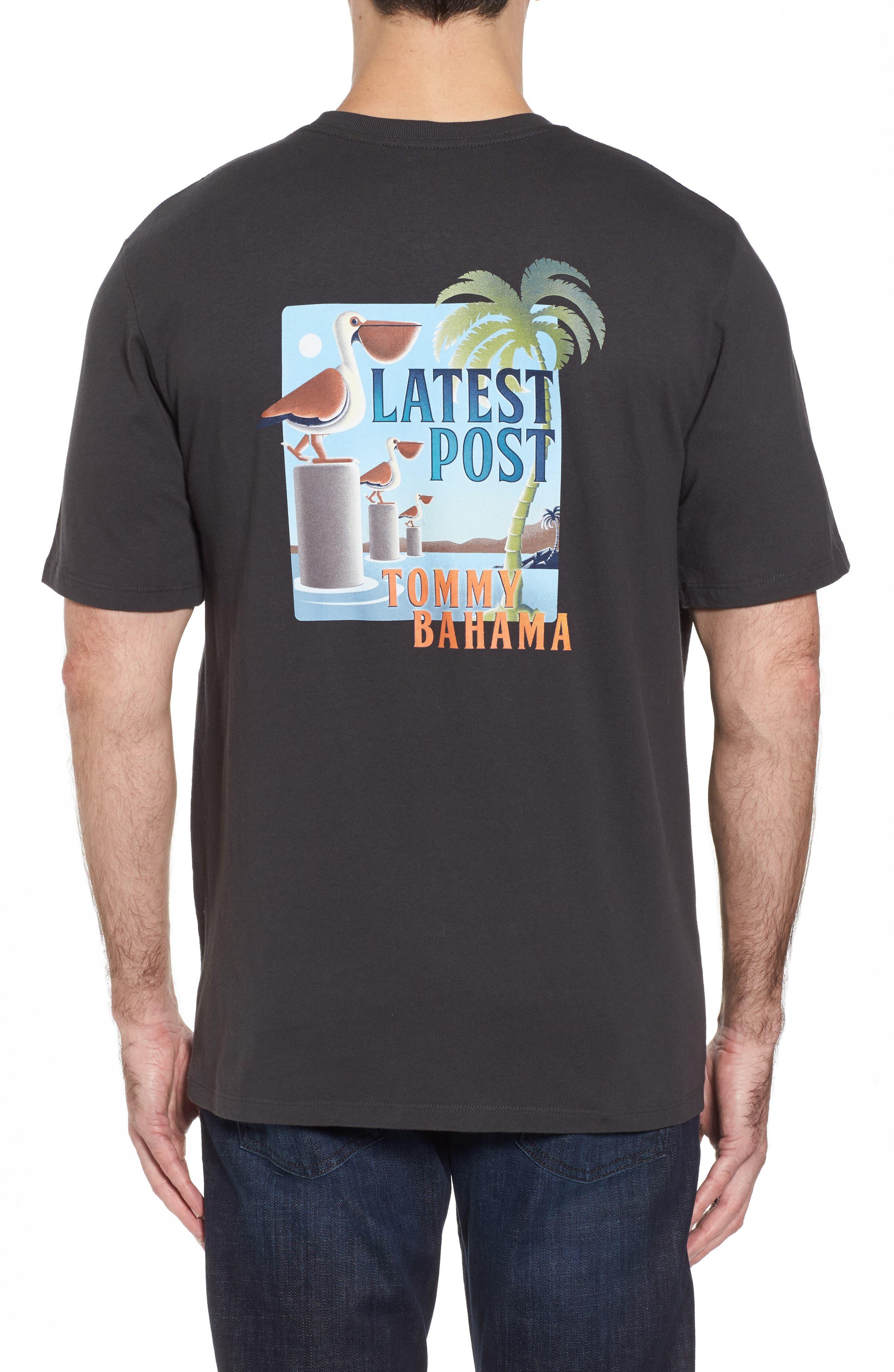 Latest Posts T-Shirt,                             Main thumbnail 1, color,                             Coal