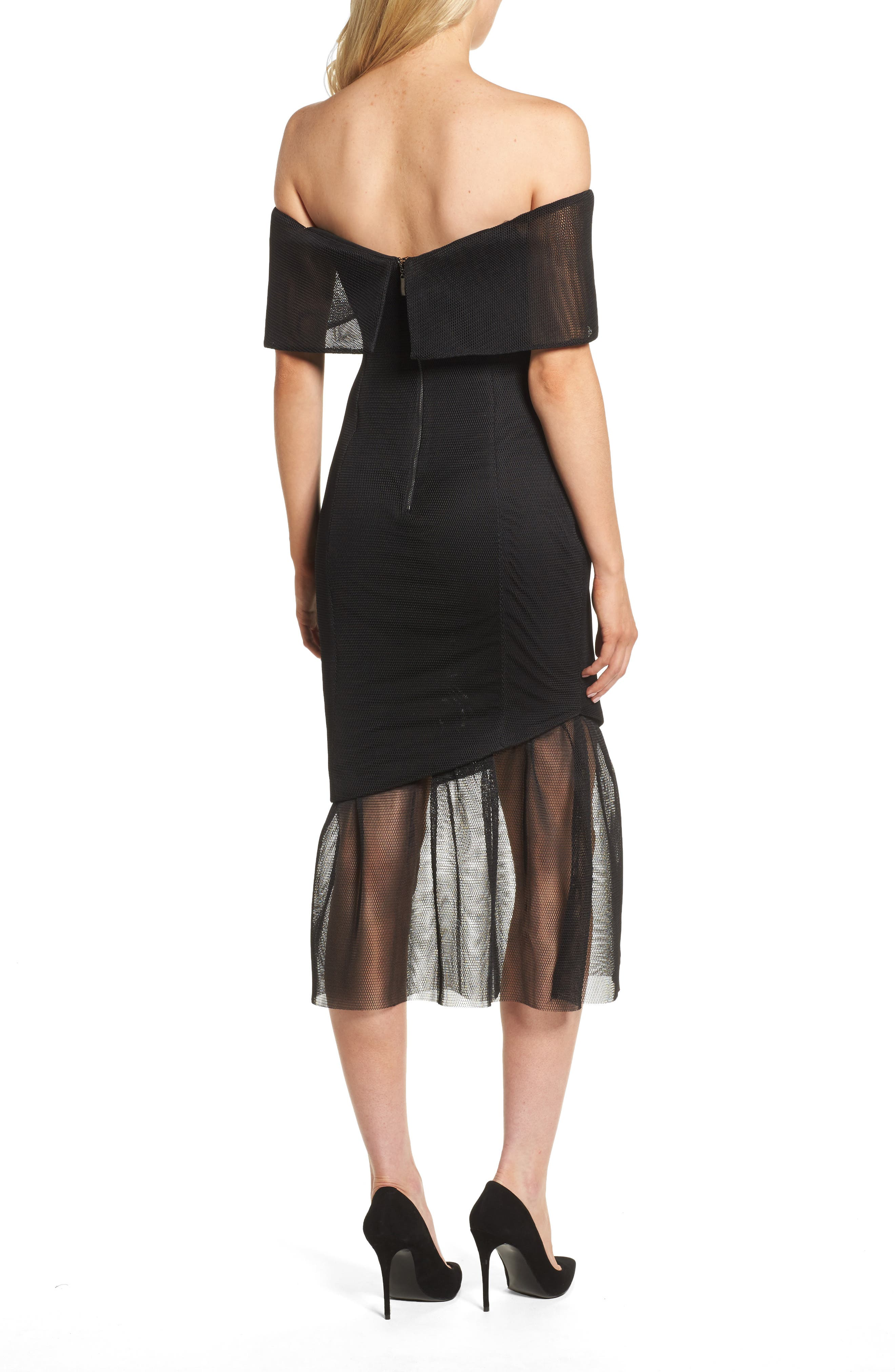 Alternate Image 2  - Elliatt Fate Off the Shoulder Dress