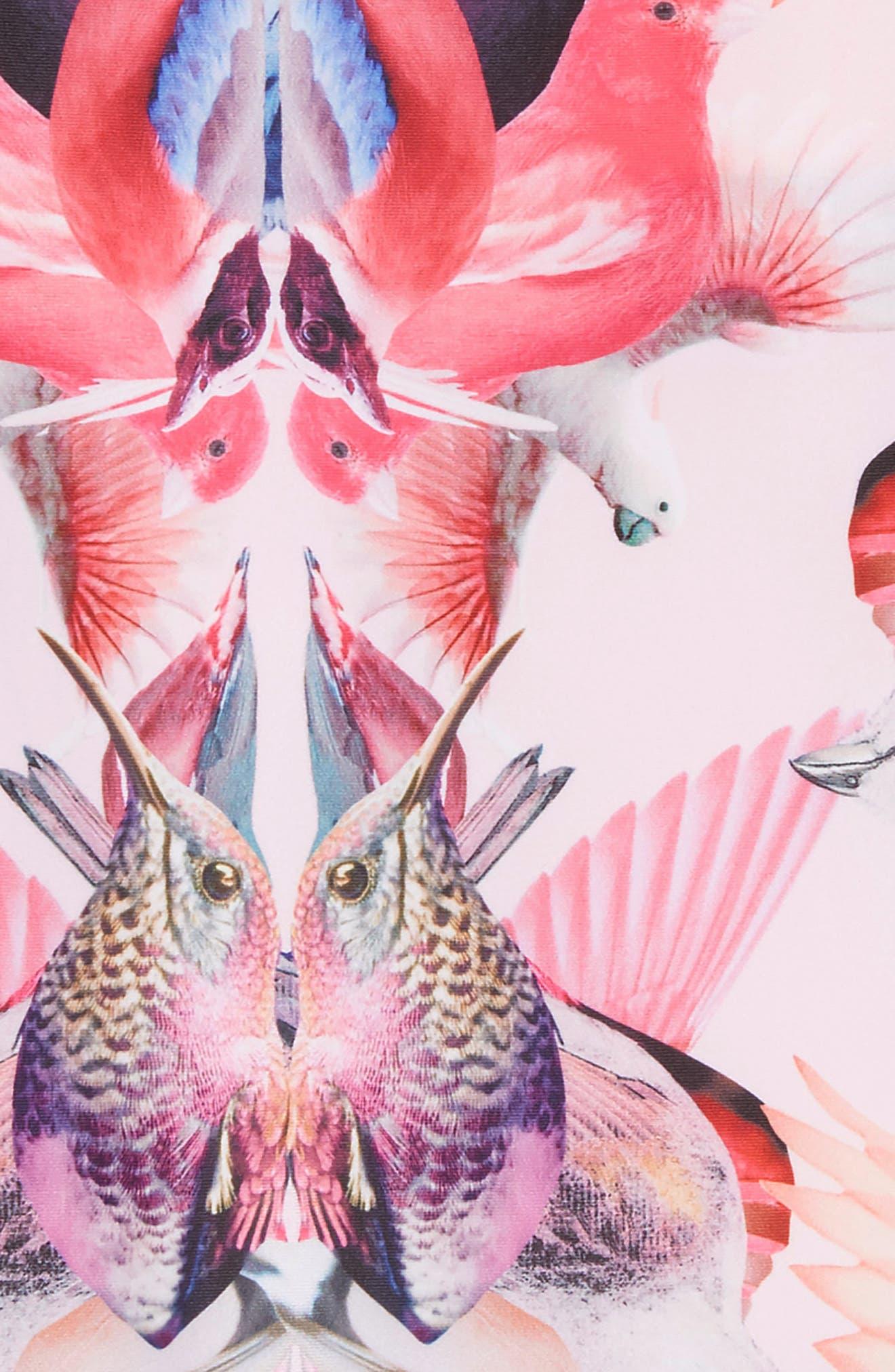 Nakia One-Piece Swimsuit,                             Alternate thumbnail 2, color,                             Mirror Birds