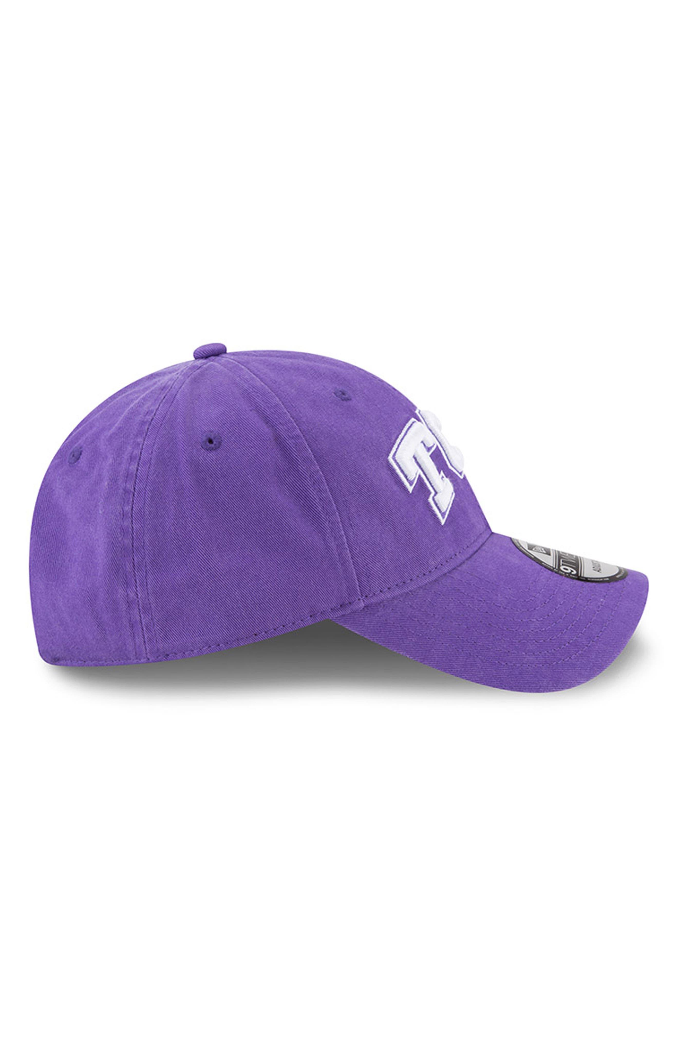 Collegiate Core Classic Baseball Cap,                             Alternate thumbnail 5, color,                             Tcu Horned Frogs
