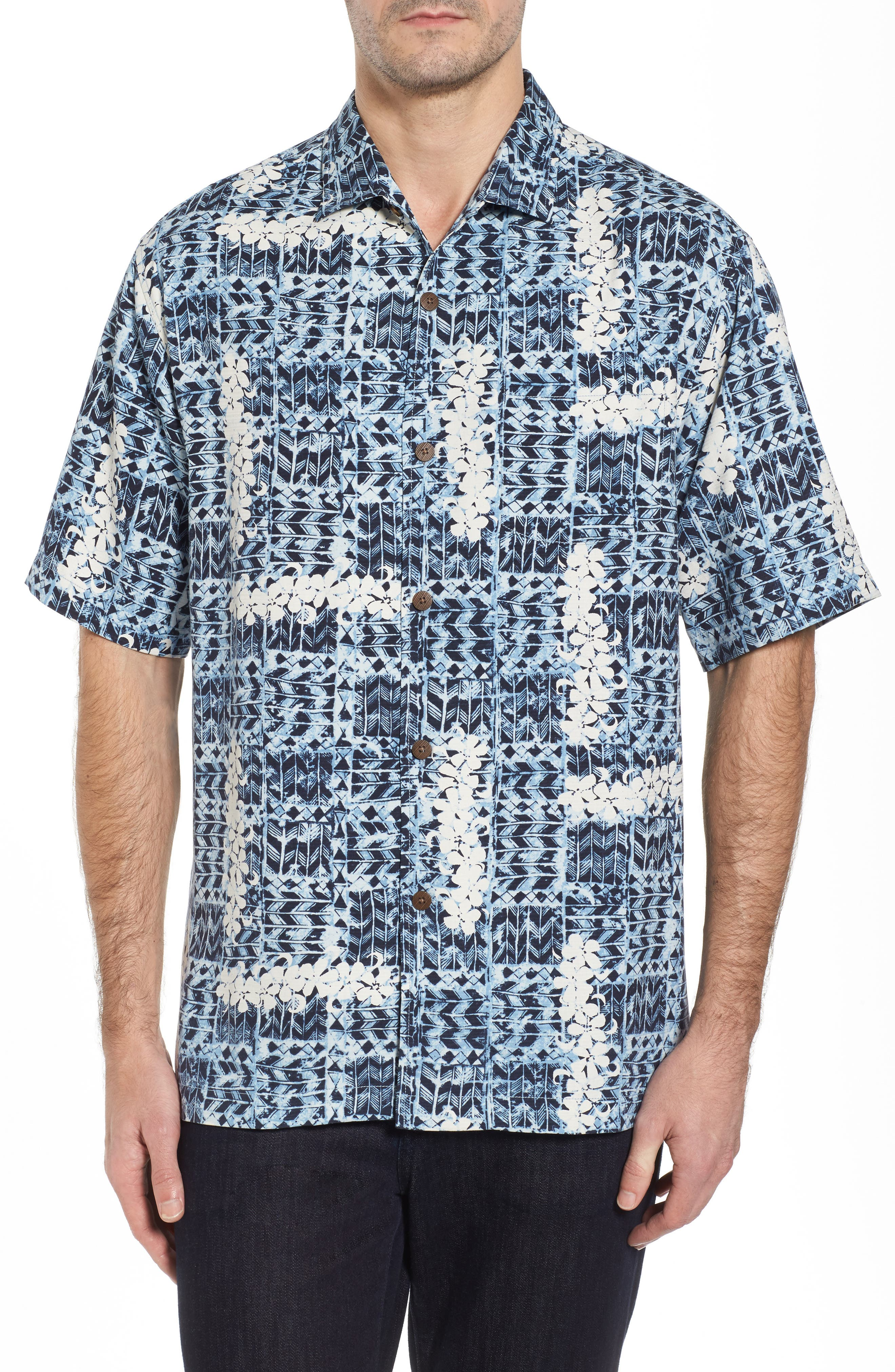 Tommy Bahama Olei Olei Silk Camp Shirt
