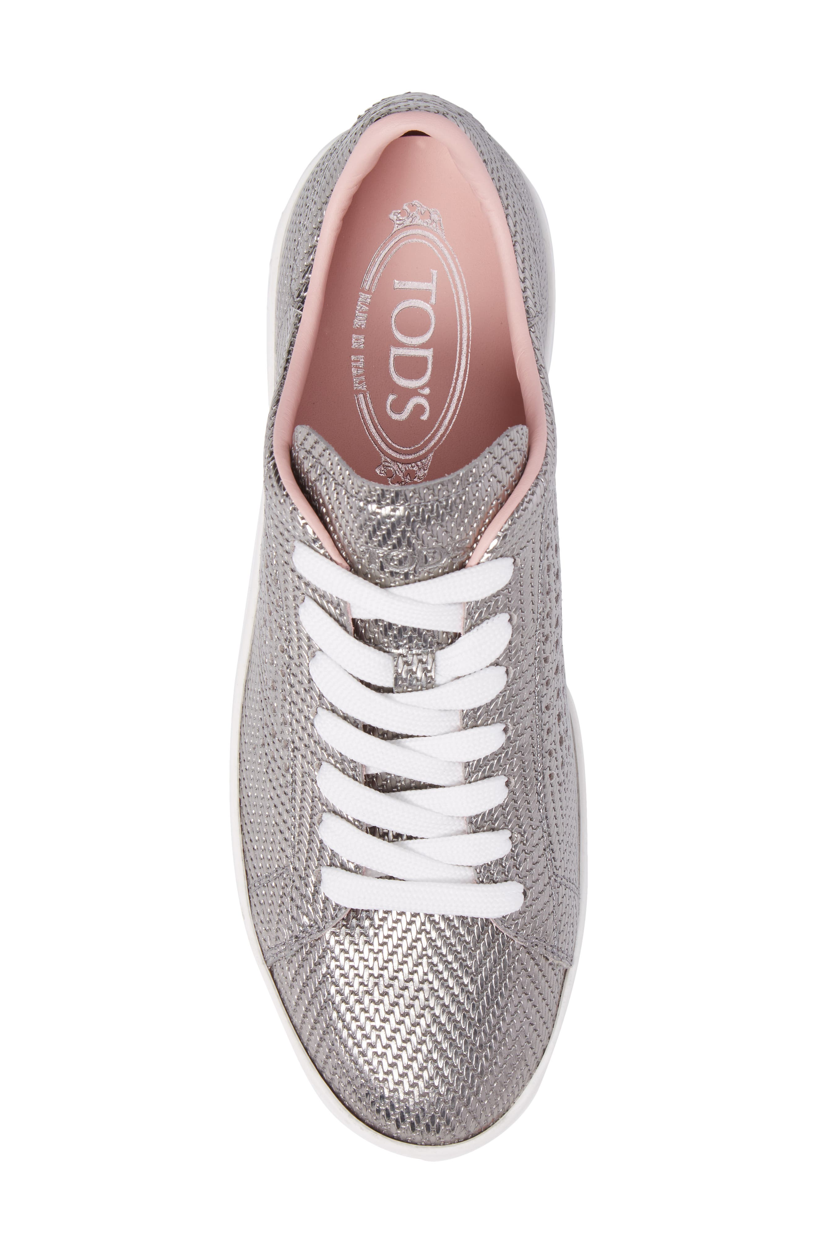 Alternate Image 5  - Tod's Perforated T Sneaker (Women)