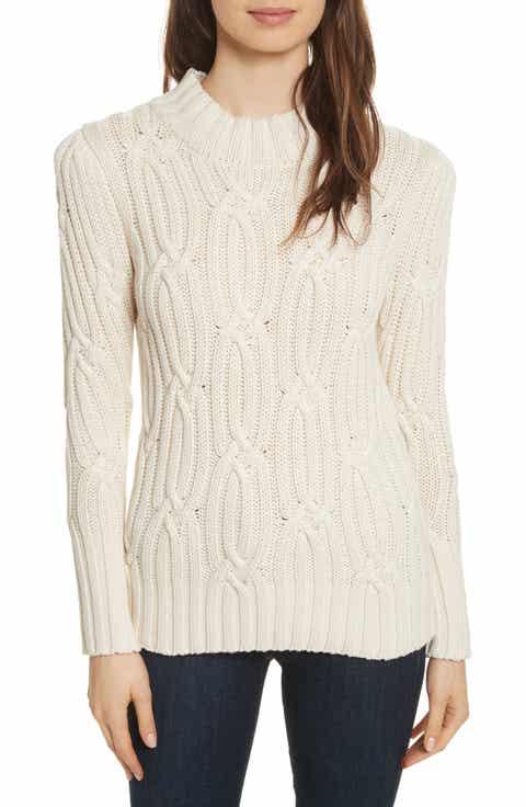 La Vie Rebecca Taylor Cable Knit Sweater