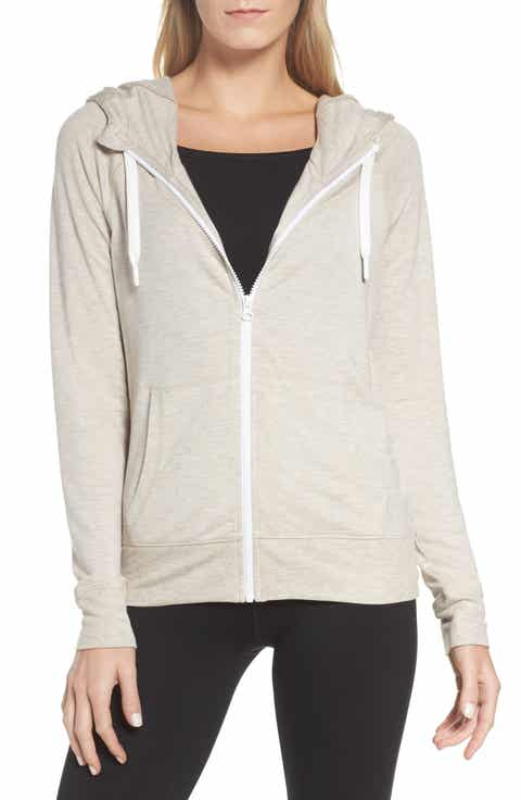 Zella Well Played Zip Fleece Hoodie