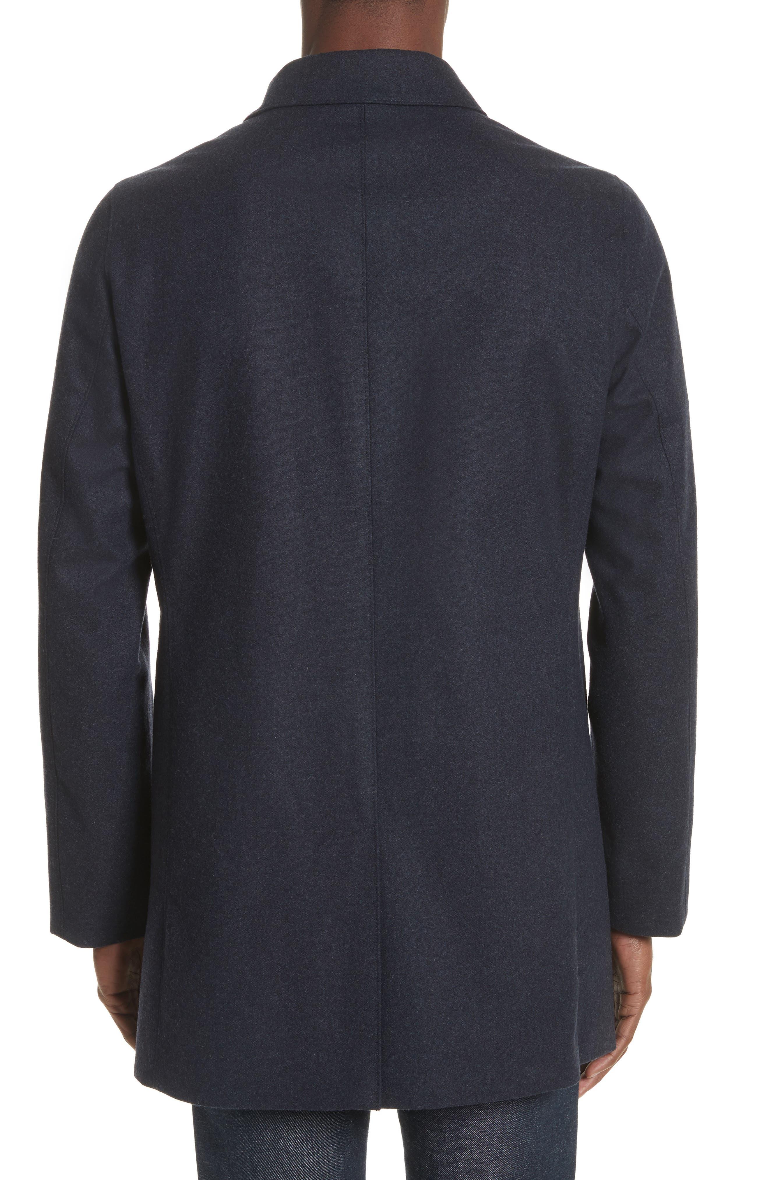 Alternate Image 2  - John Varvatos Star USA Buckley Wool Blend Topcoat