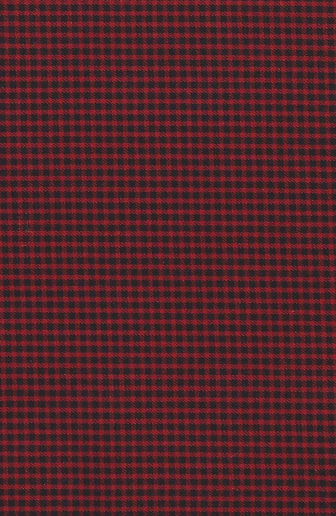 Alternate Image 3  - Nordstrom Micro Check Pocket Square (Big Boys)