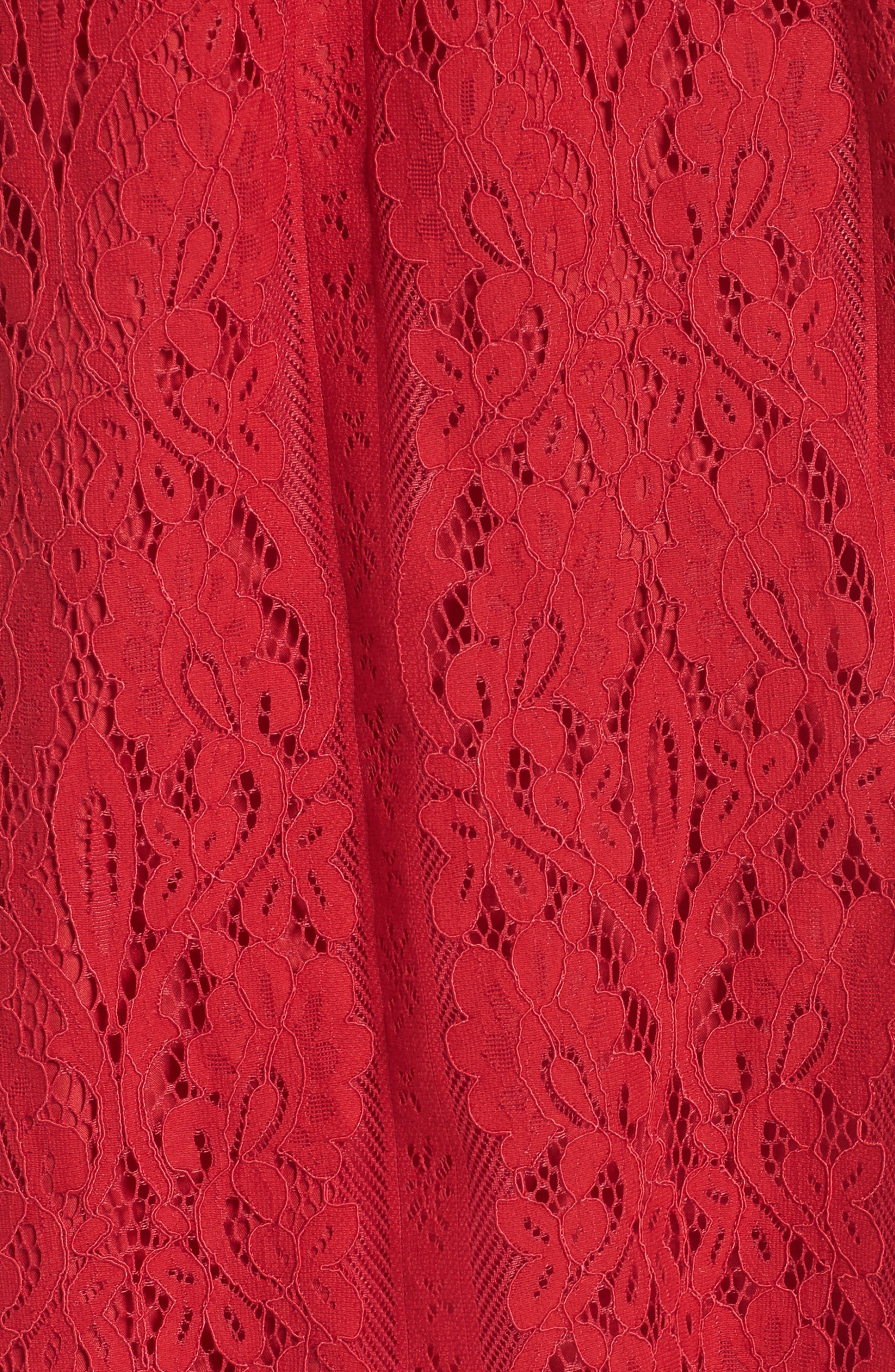Alternate Image 5  - BB Dakota Erica Off the Shoulder Lace Shift Dress