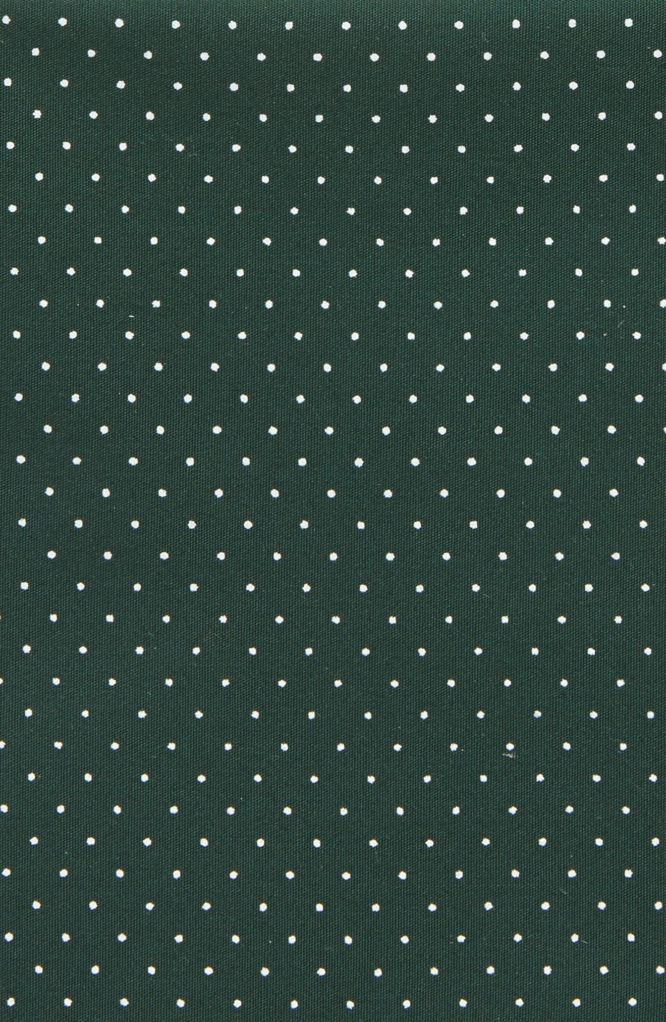 Alternate Image 2  - Nordstrom Micro Dot Pocket Square (Big Boys)