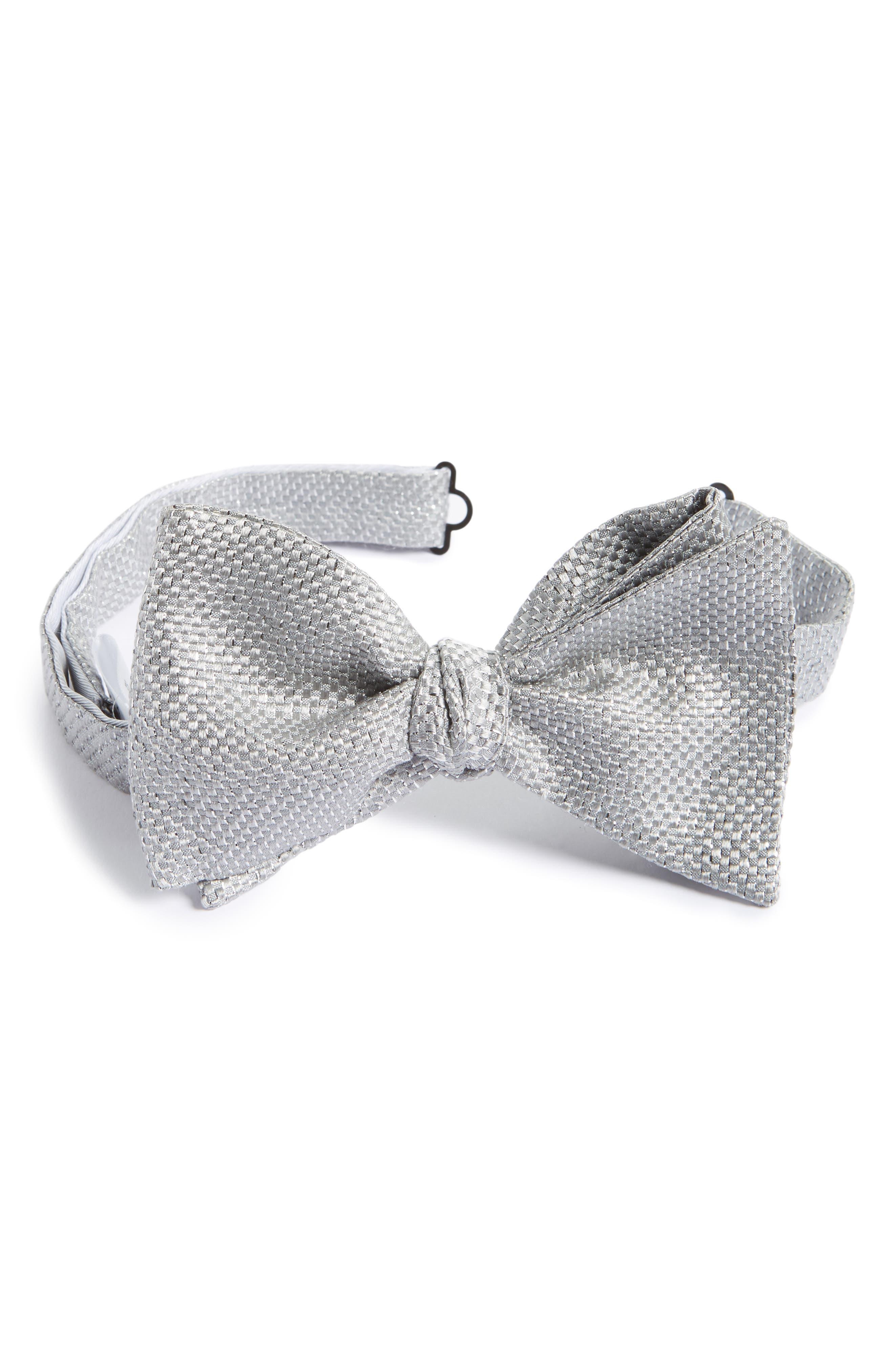 Eton Solid Silk Blend Bow Tie