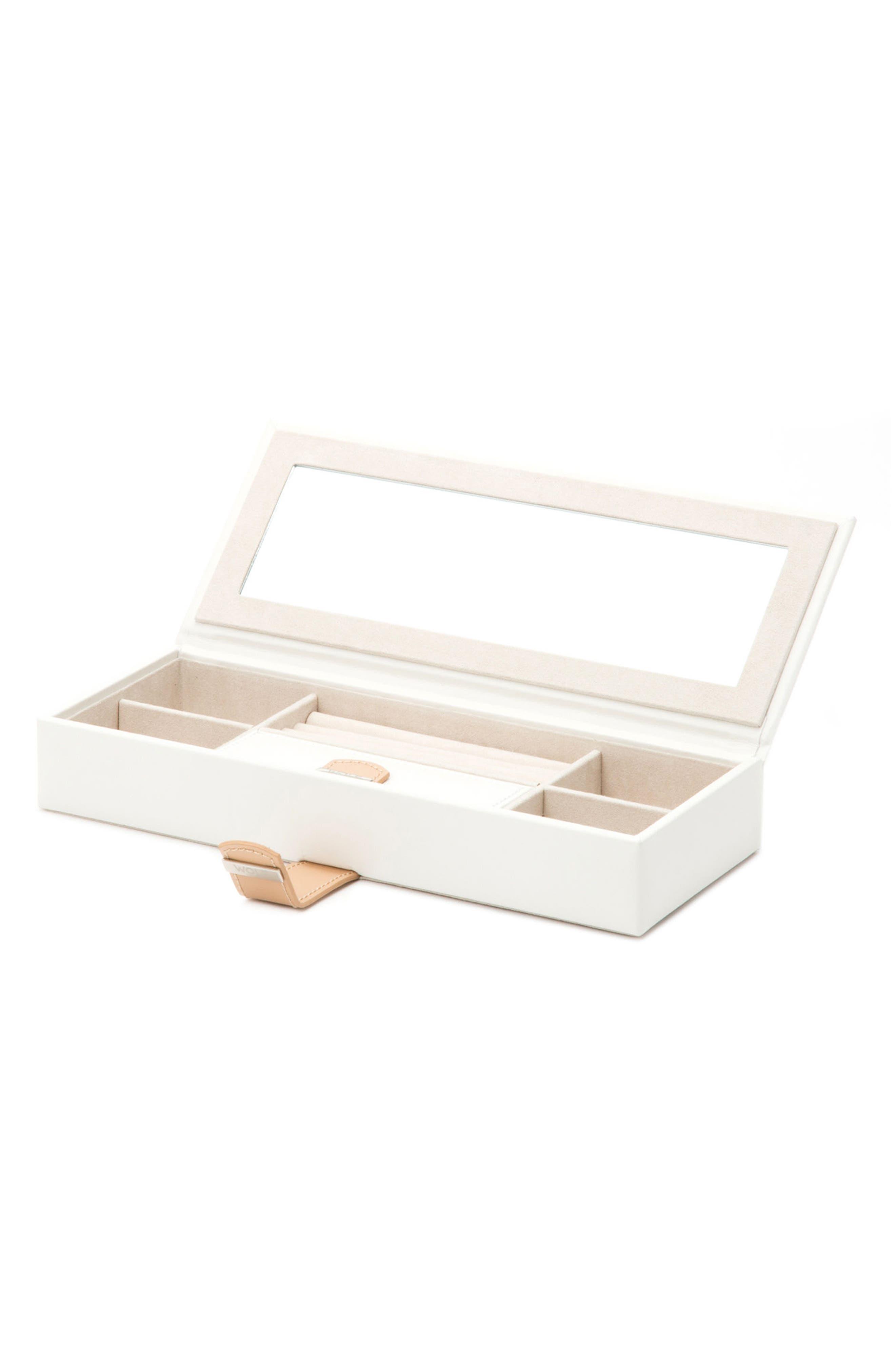 Blossom Jewelry Box,                         Main,                         color, Ivory