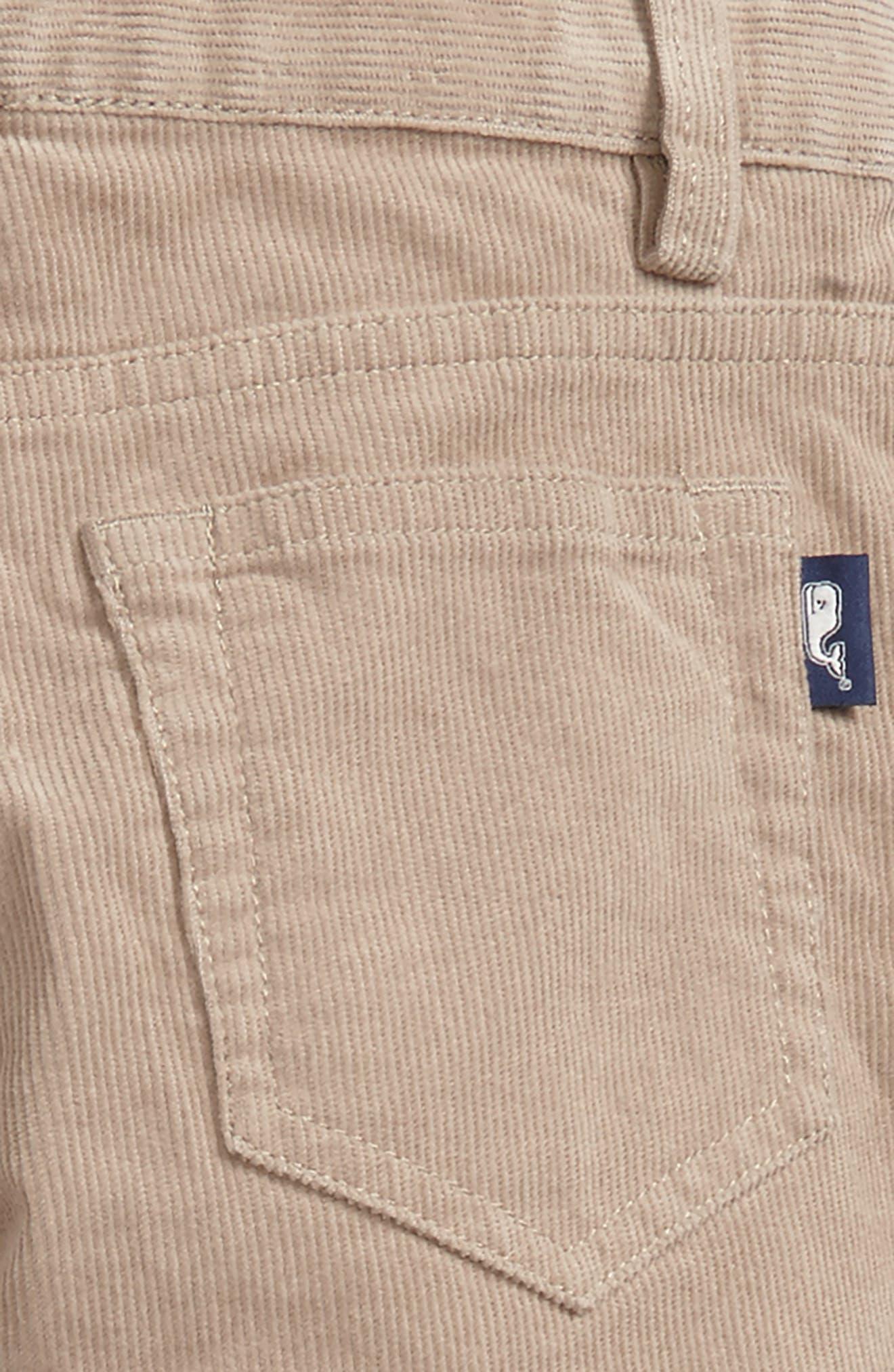 Corduroy Pants,                             Alternate thumbnail 3, color,                             Khaki