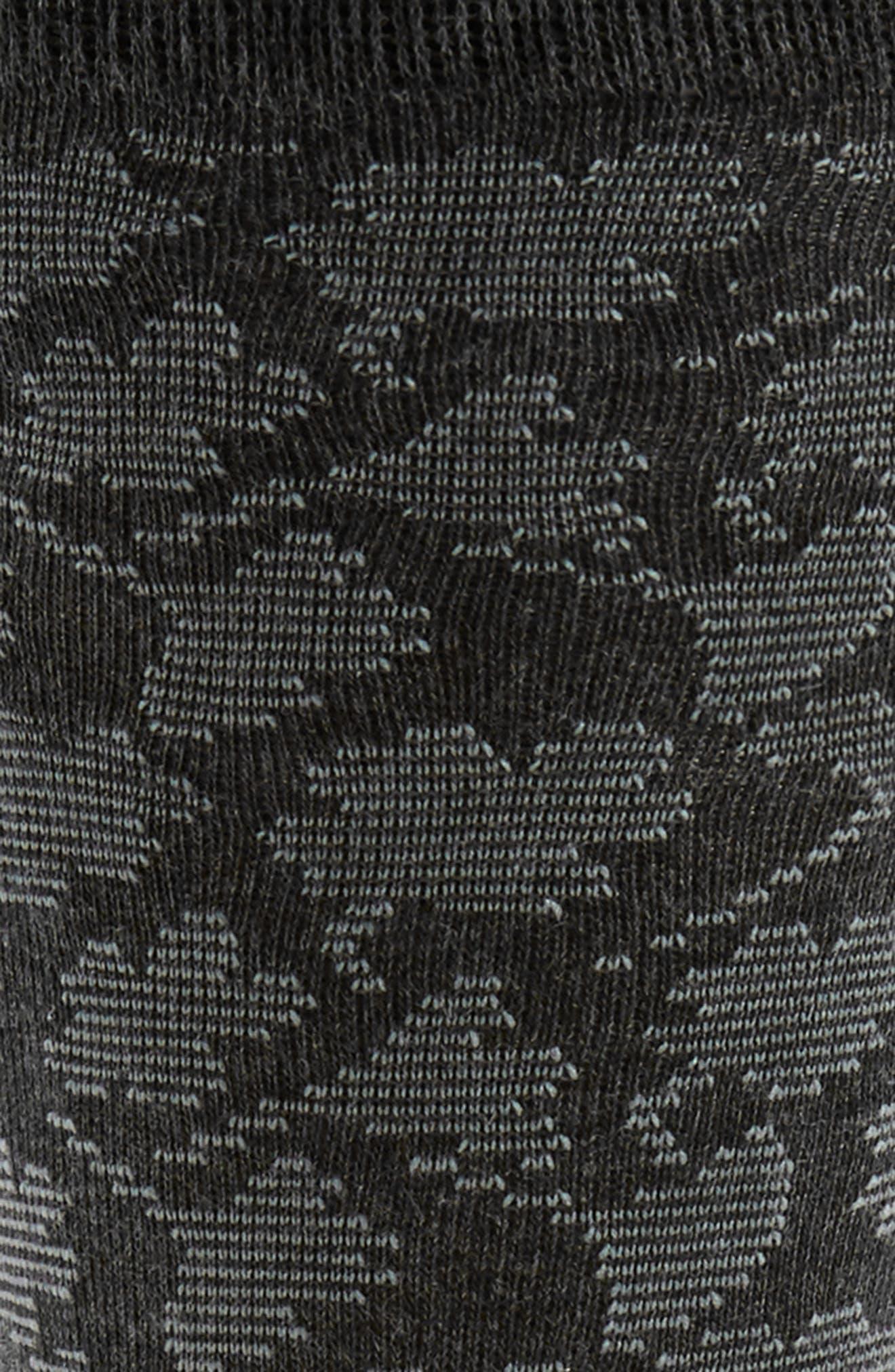 Alternate Image 2  - Calvin Klein Floral Socks