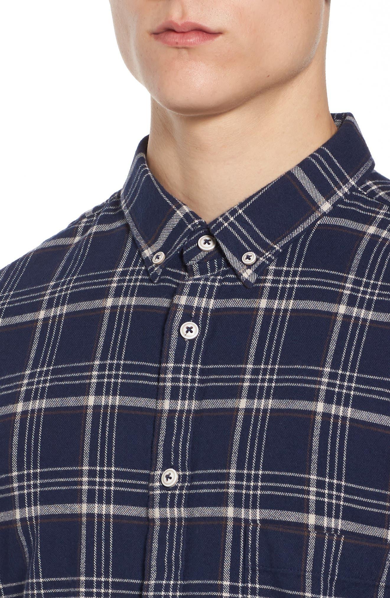 Alternate Image 4  - Barney Cools Cabin Plaid Shirt