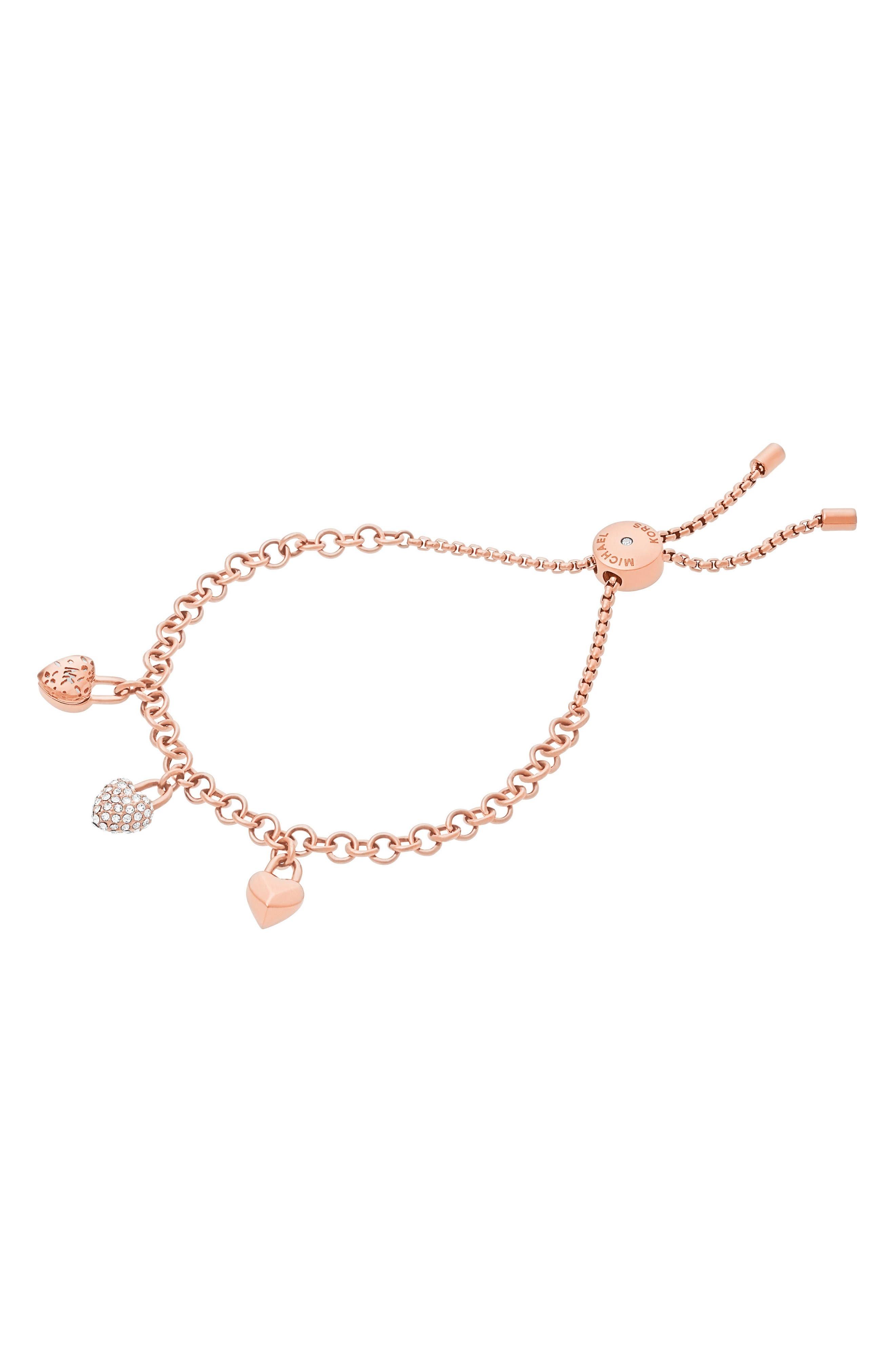 Alternate Image 1 Selected - Michael Kors Slider Crystal Bracelet