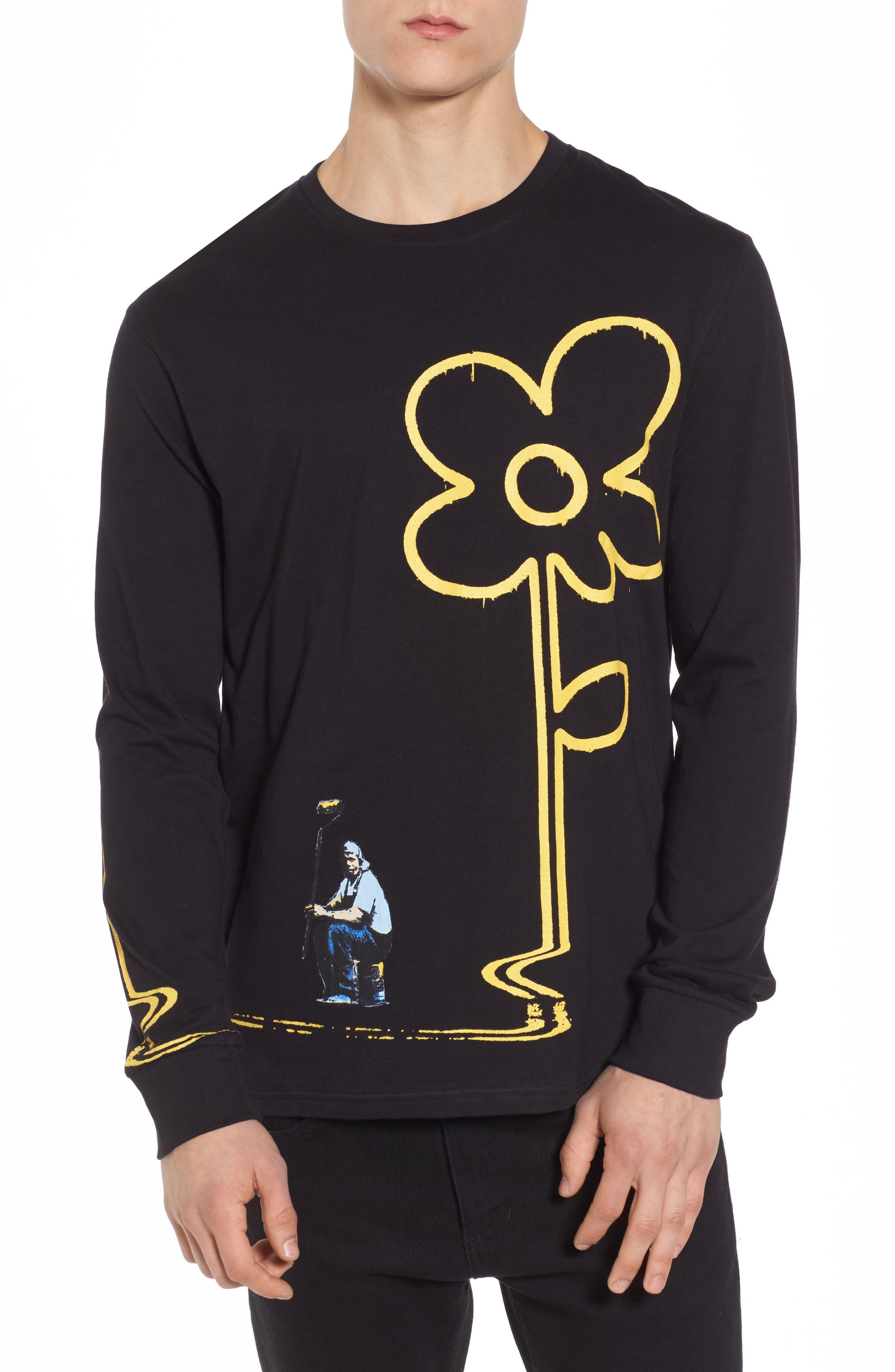 ELEVENPARIS Yellow Lines T-Shirt