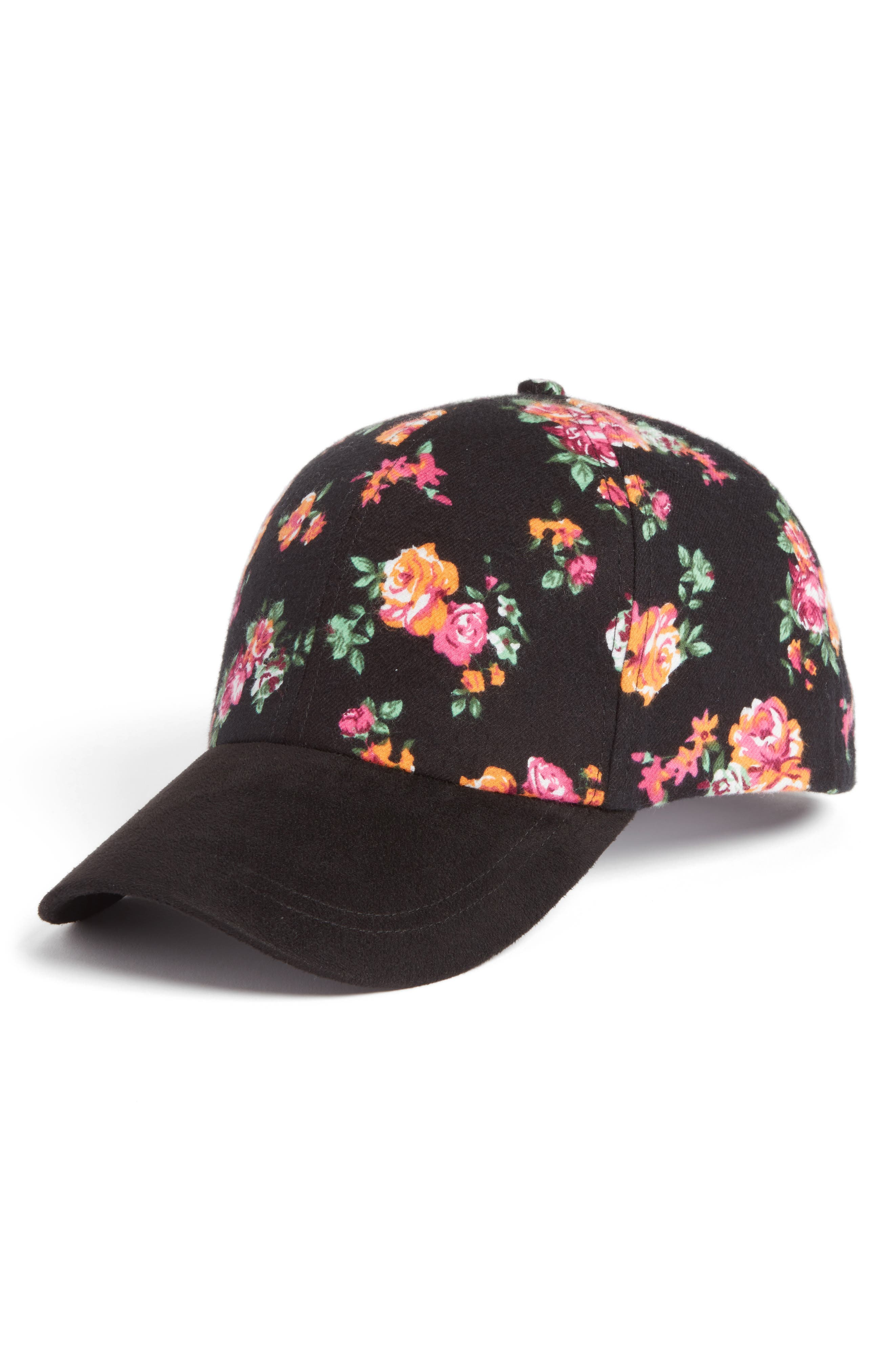 Alternate Image 1 Selected - Collection XIIX Floral Baseball Cap