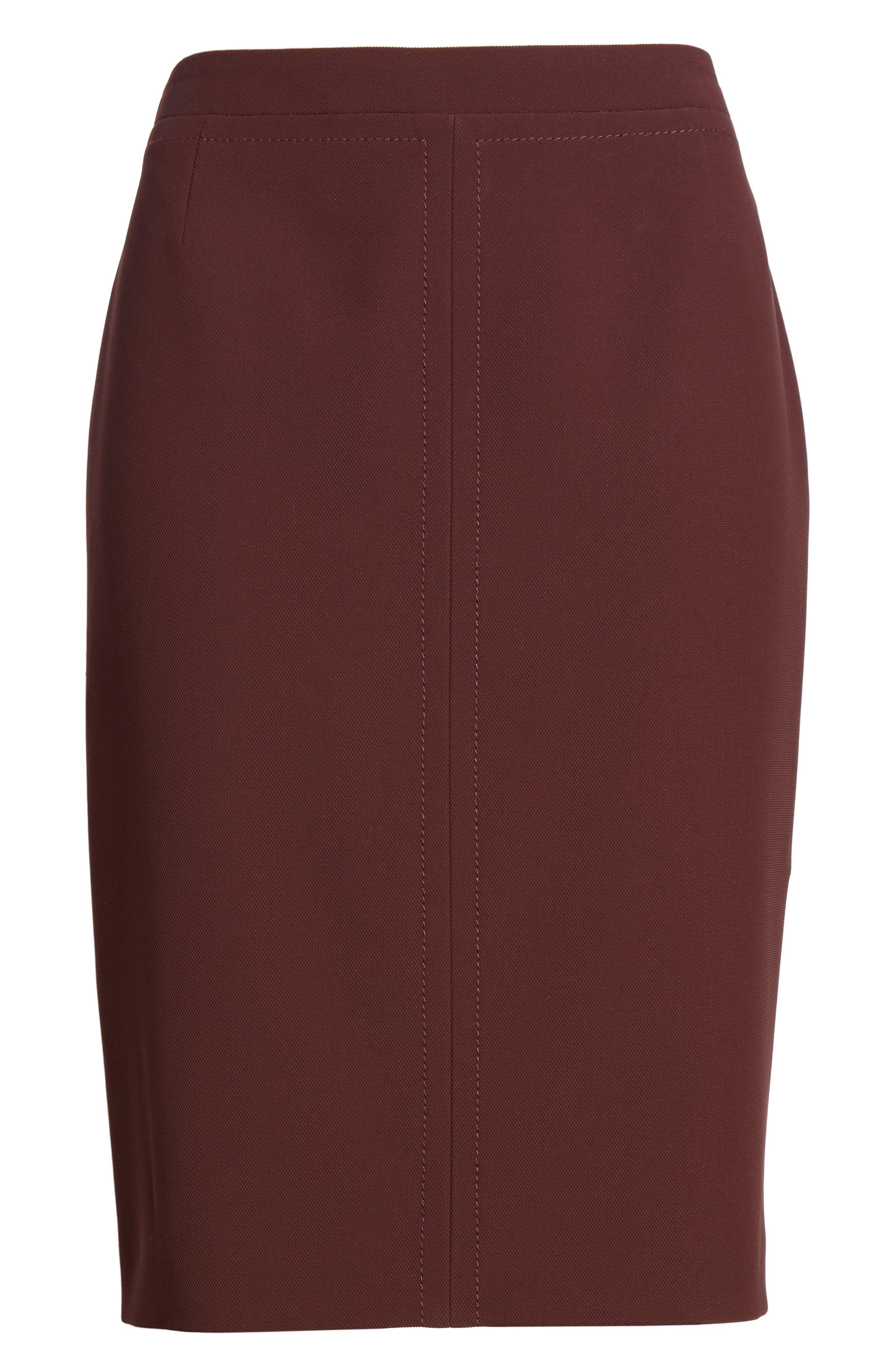 Vuriona Suit Skirt,                             Alternate thumbnail 6, color,                             Mulberry
