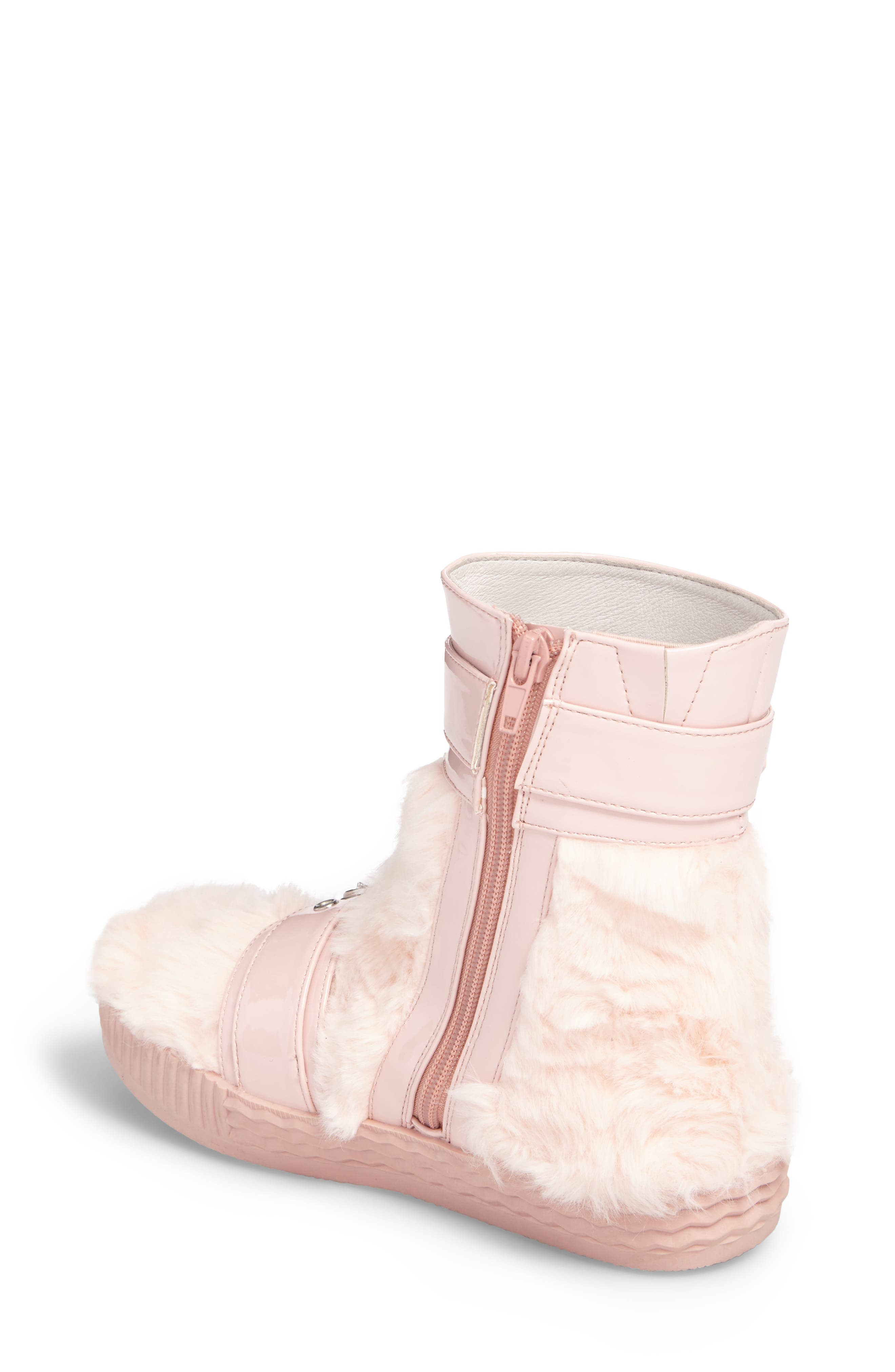 Alternate Image 2  - Jeffrey Campbell Vivant Faux Fur Sneaker Boot (Women)