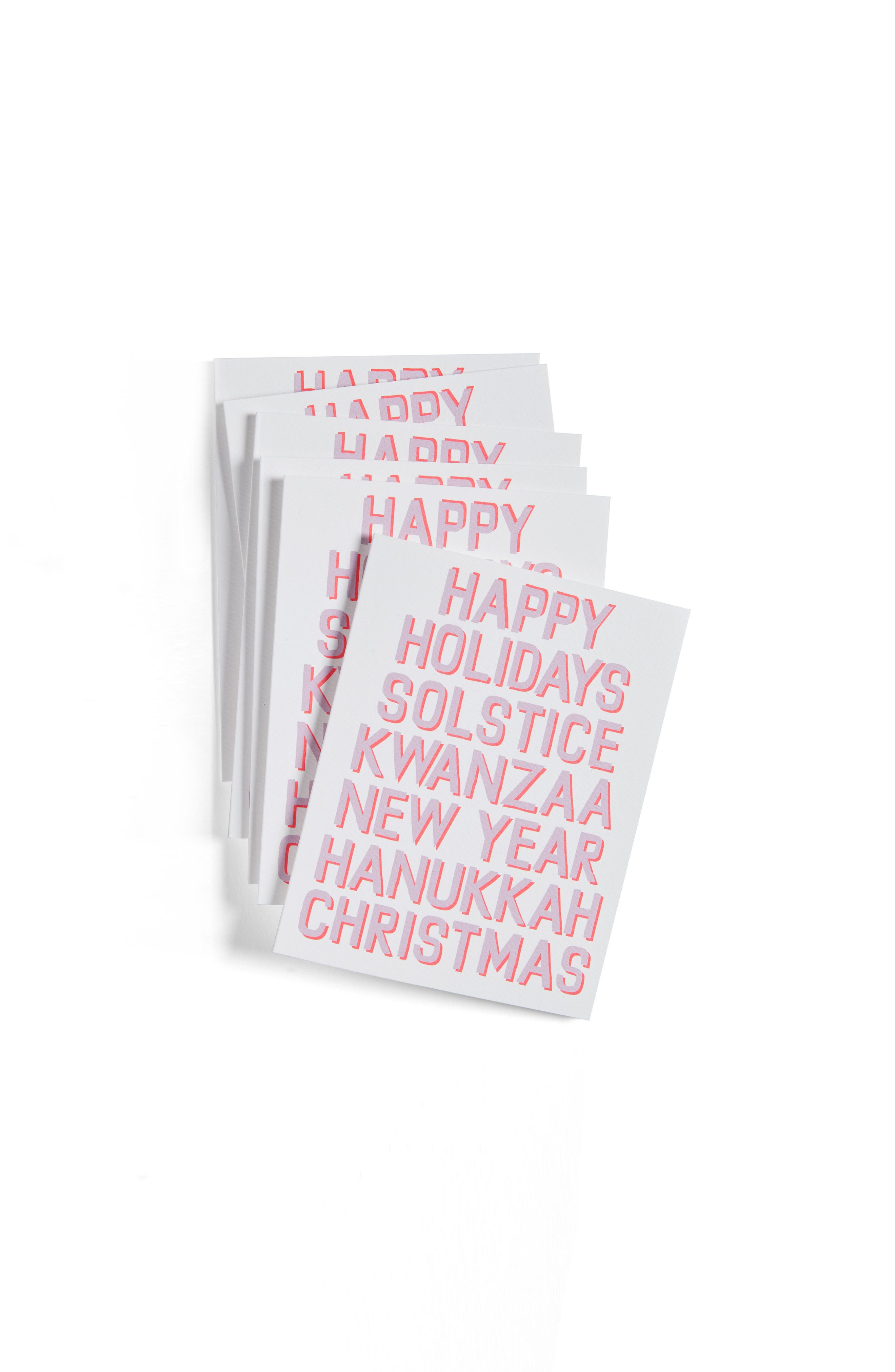 Banquet Atelier & Workshop Happy Everything Set of 6 Greeting Cards